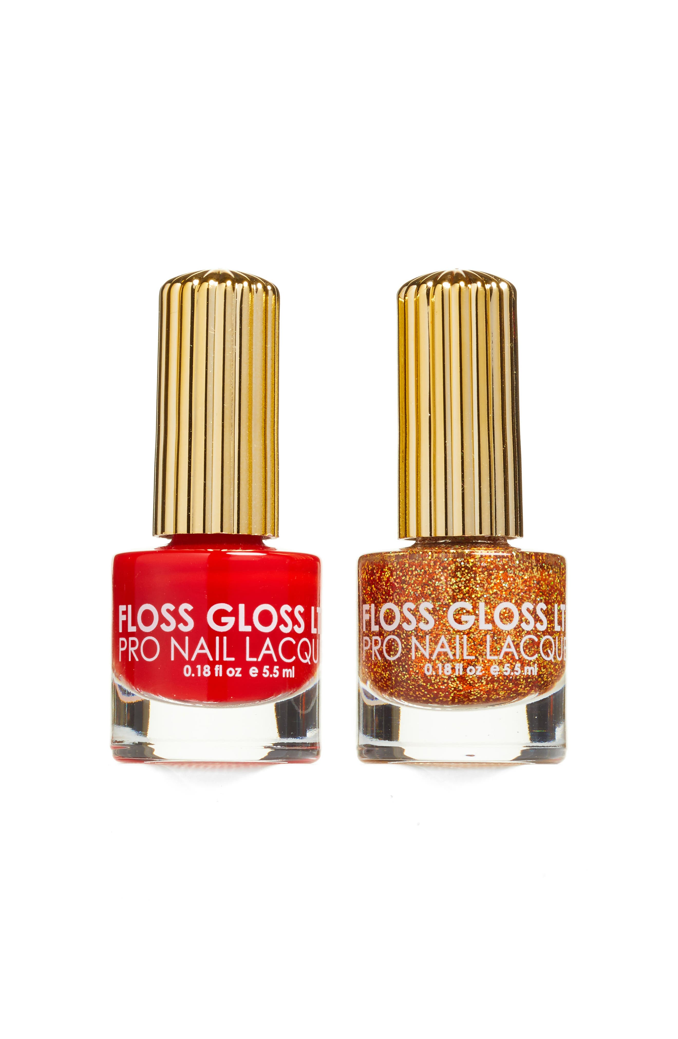 Floss Gloss Honey & Gangsta Boo Set of 2 Nail Lacquers