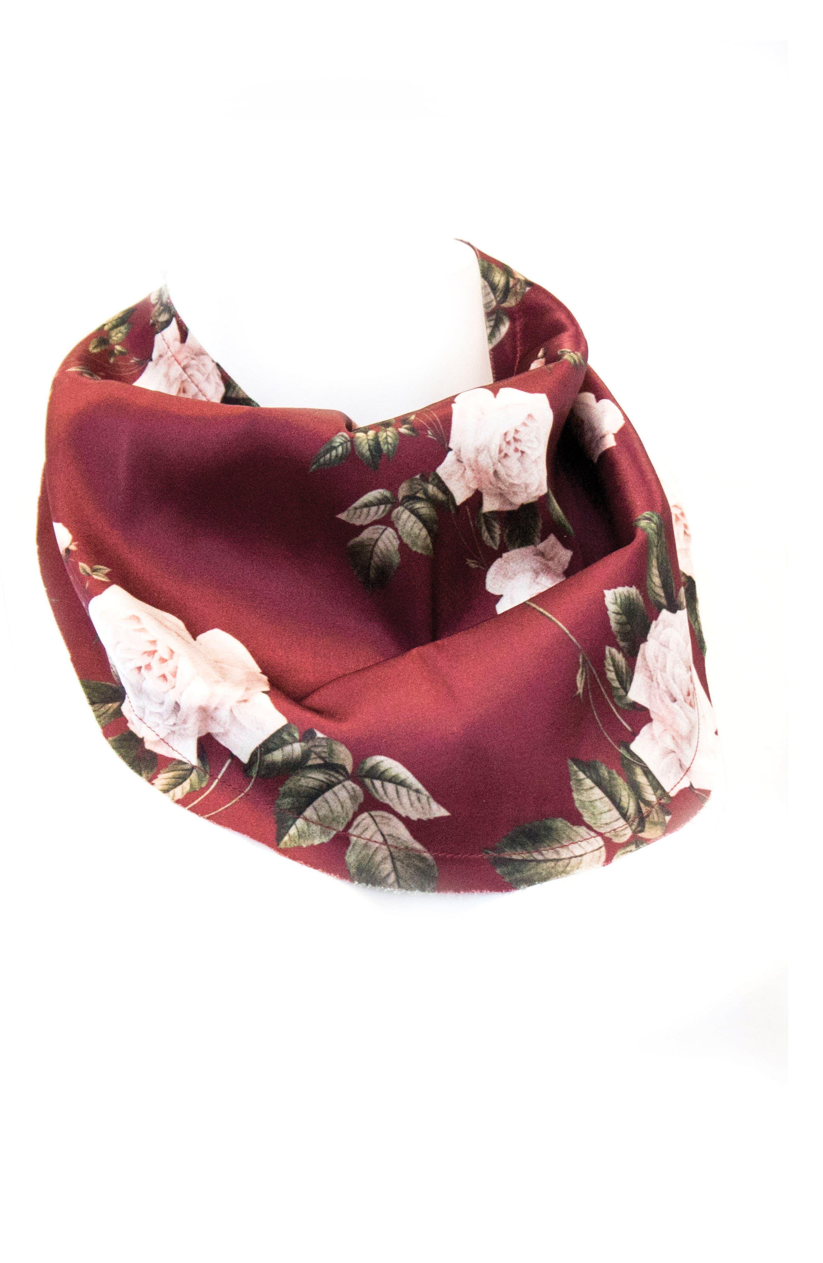 Main Image - New Friends Colony Winter Rose Neckerchief