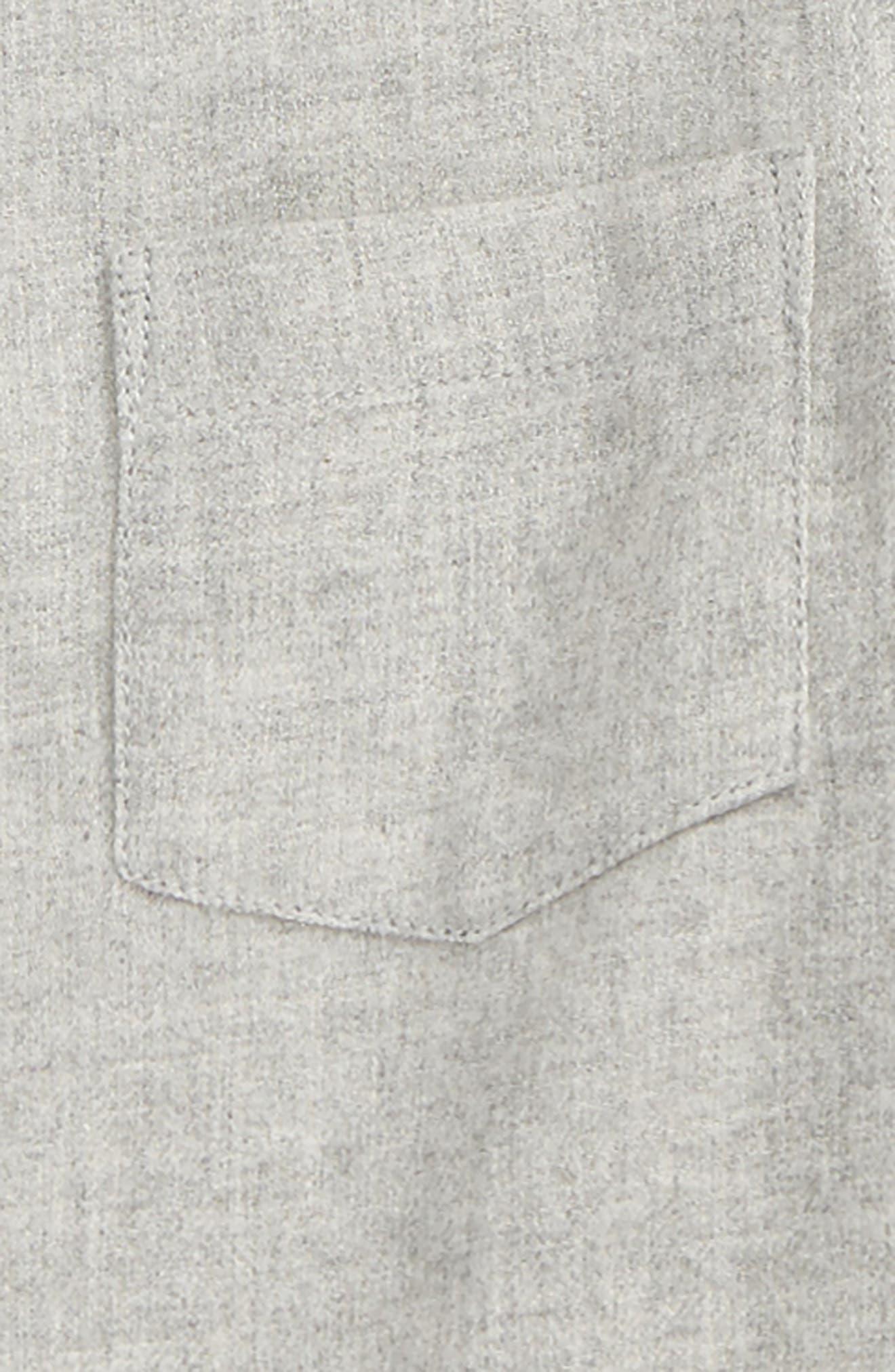 Colin Plaid Flannel Shirt,                             Alternate thumbnail 2, color,                             Grey
