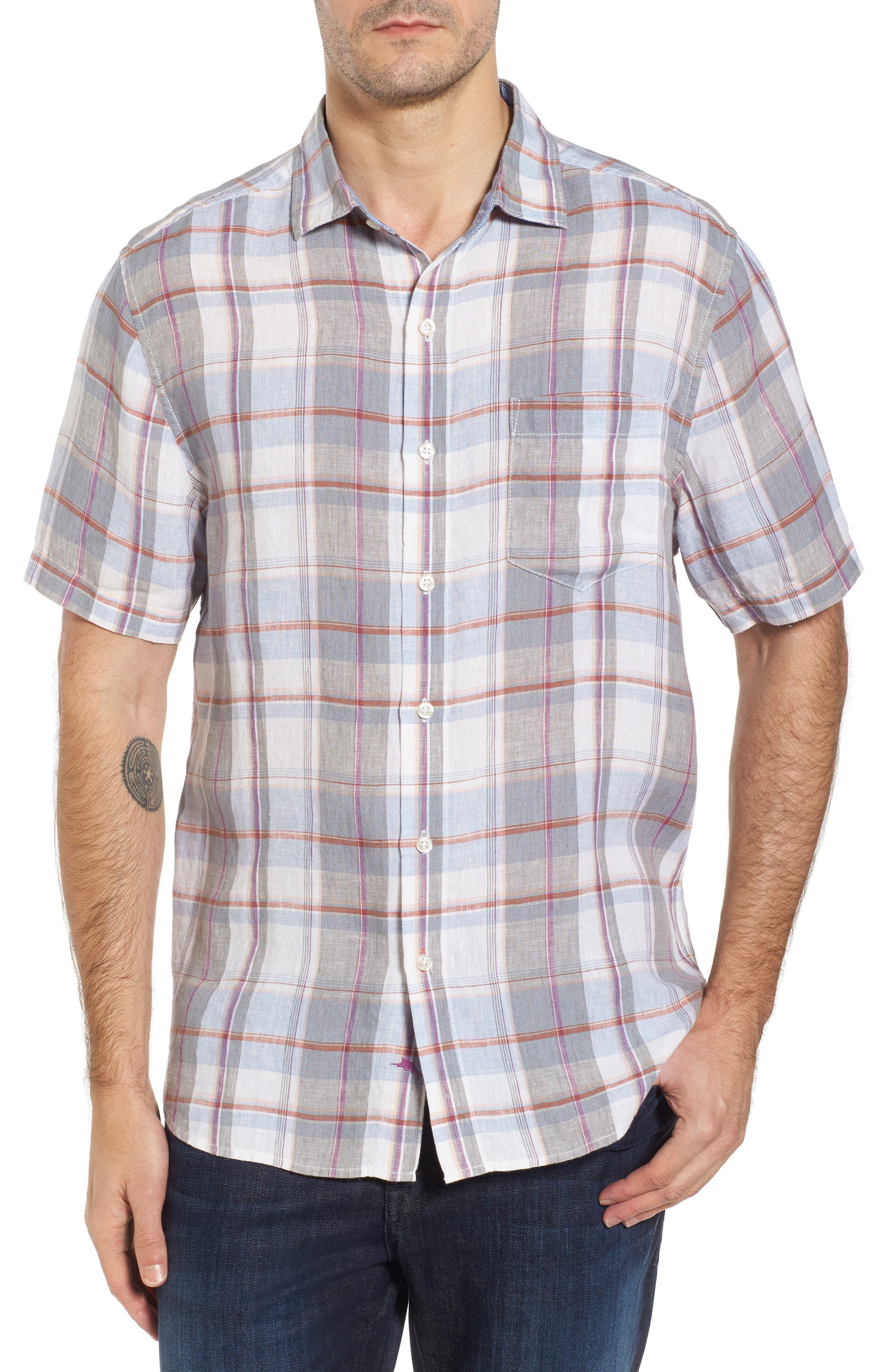 Lauderdale Regular Fit Sport Shirt,                         Main,                         color, Bala Shark