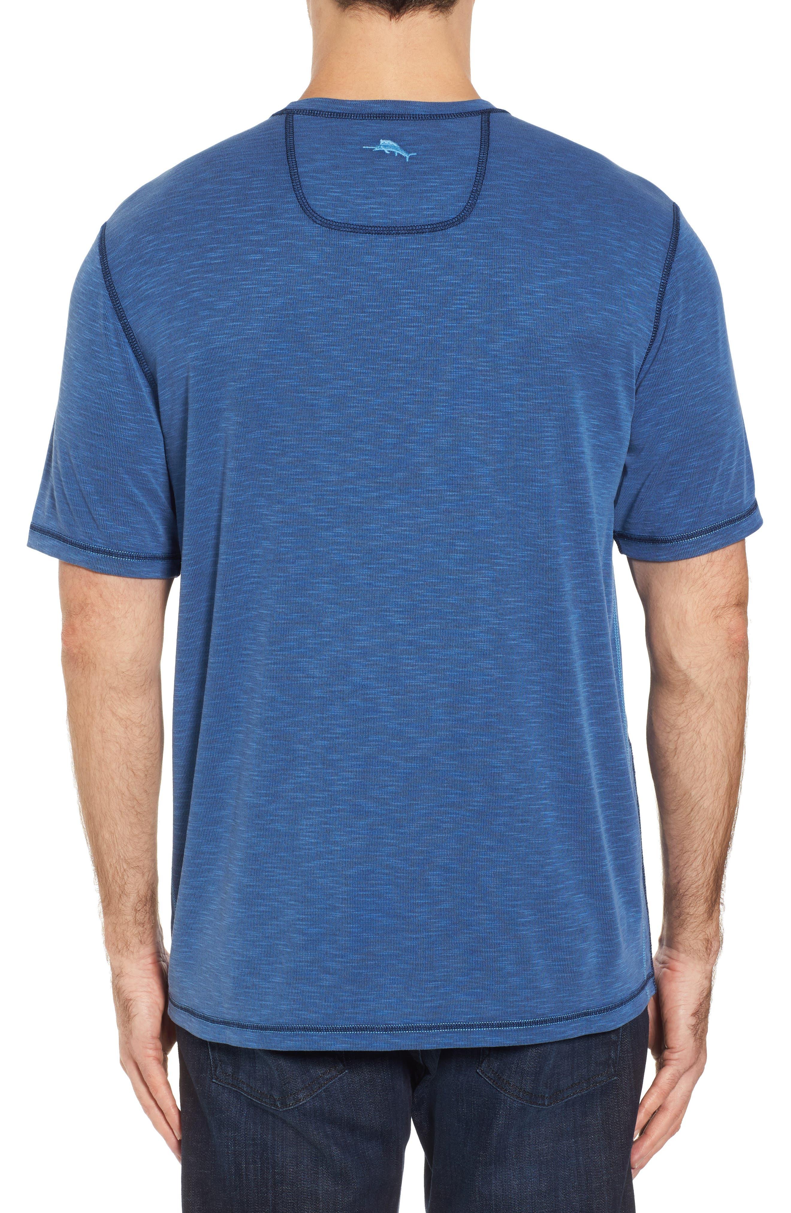 Flip Tide T-Shirt,                             Alternate thumbnail 3, color,                             Galaxy Blue