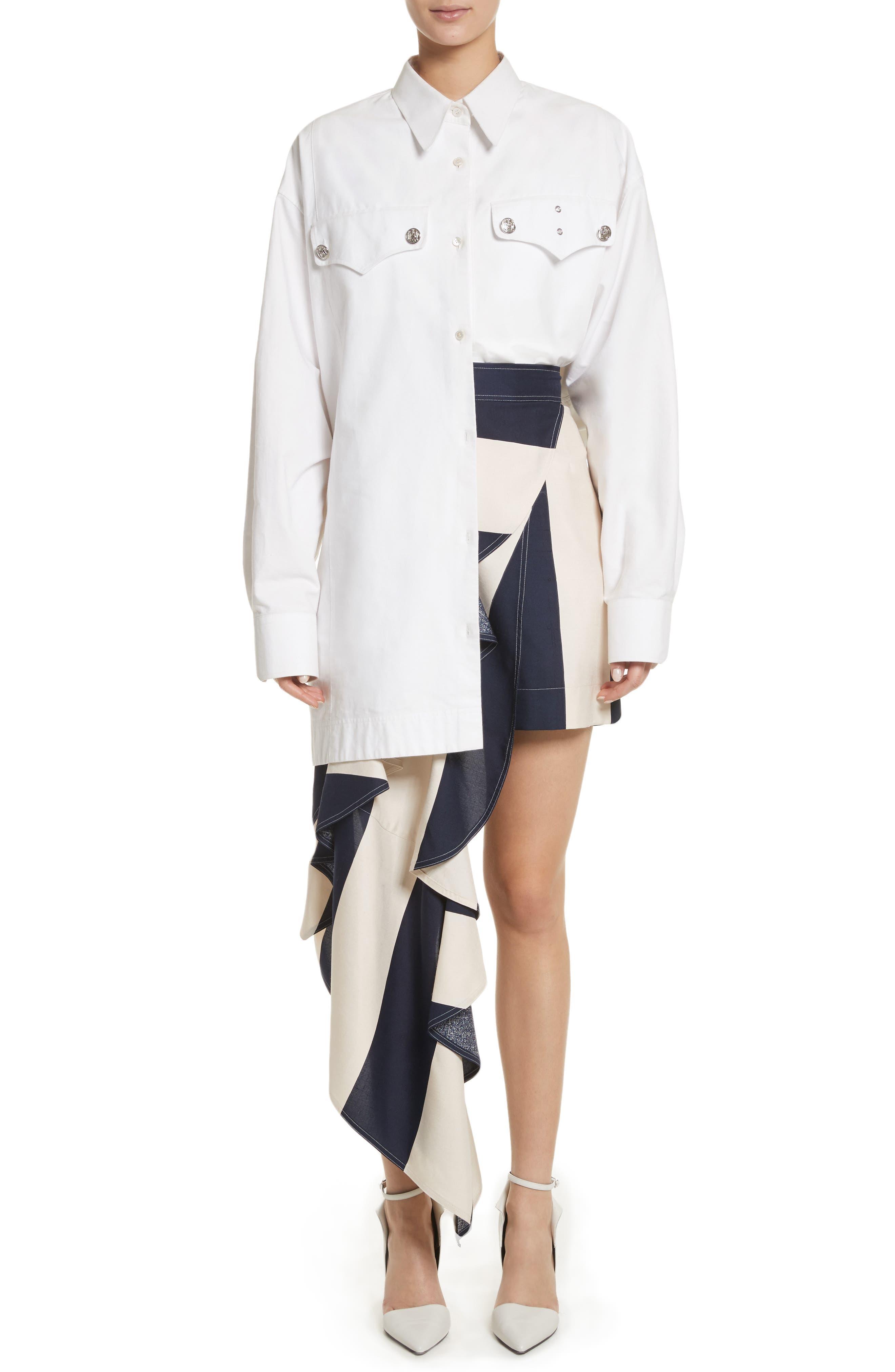 Alternate Image 6  - Calvin Klein 205W39NYC Oversize Policeman Shirt