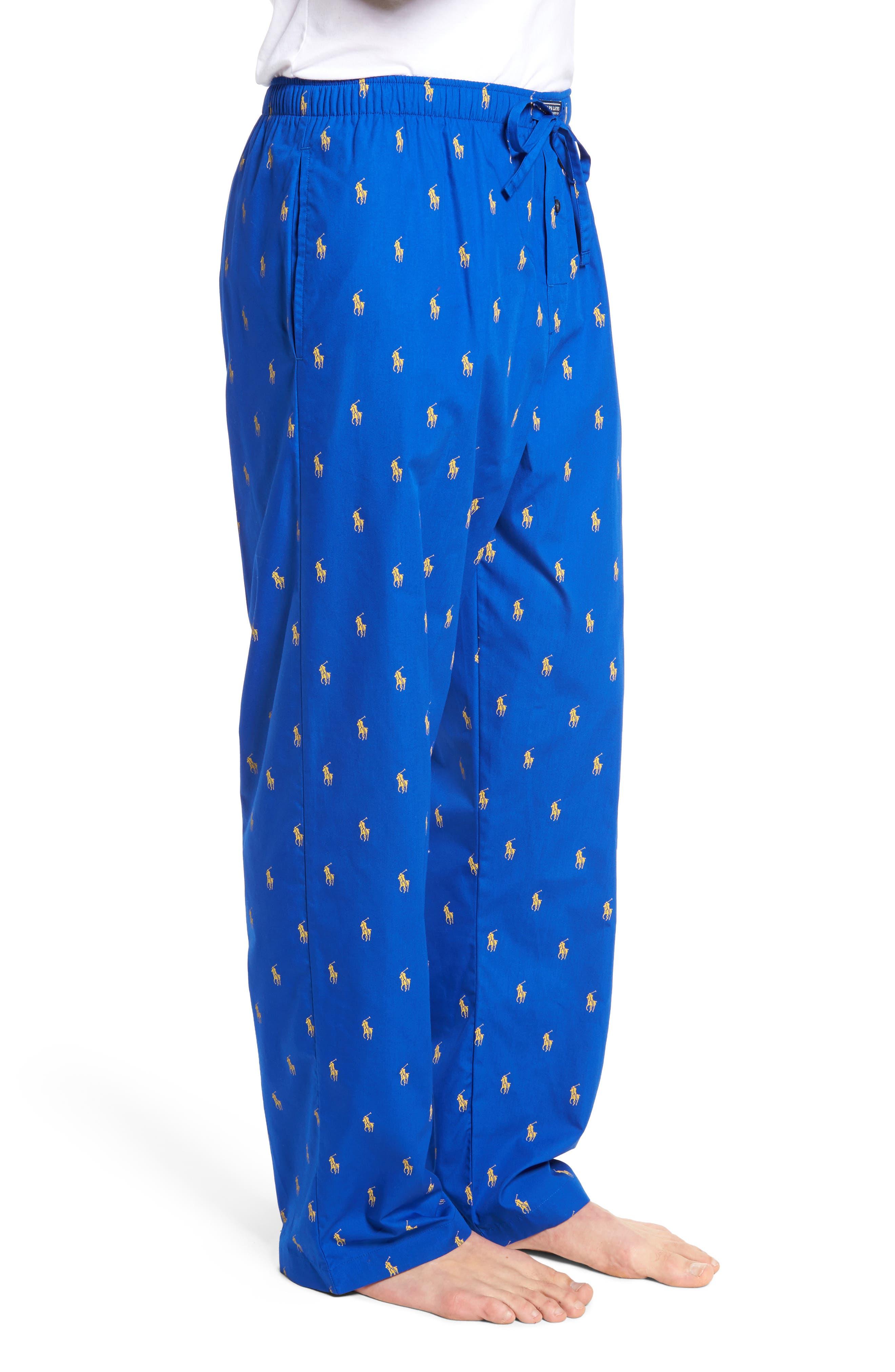 Alternate Image 3  - Polo Ralph Lauren Cotton Lounge Pants