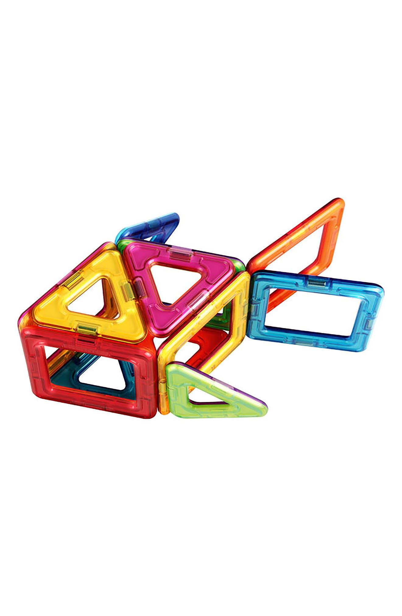 20-Piece Window Plus Magnetic 3D Construction Set,                             Alternate thumbnail 2, color,                             Multi