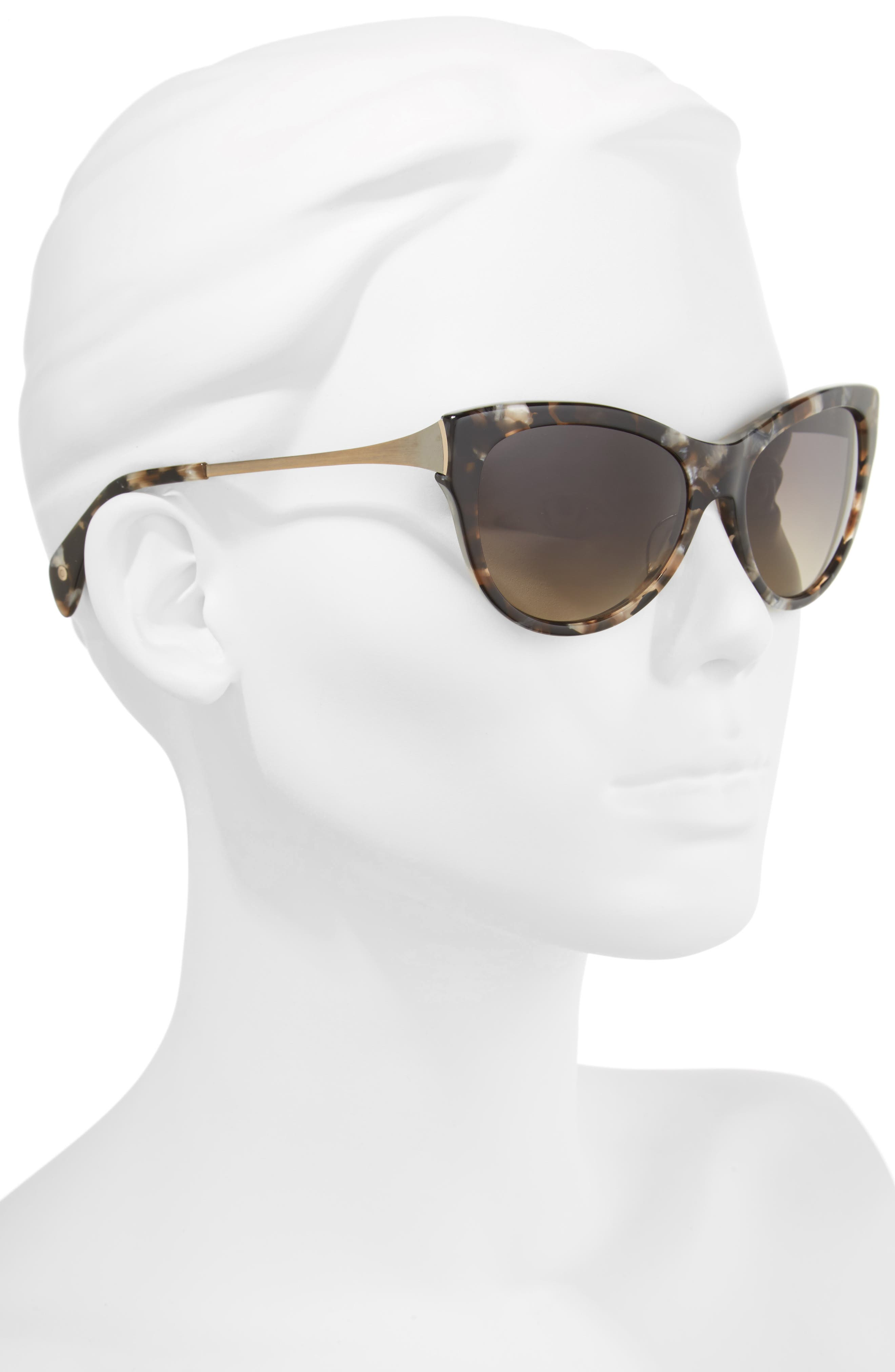 Alternate Image 2  - Salt Blanchett 55mm Polarized Cat Eye Sunglasses