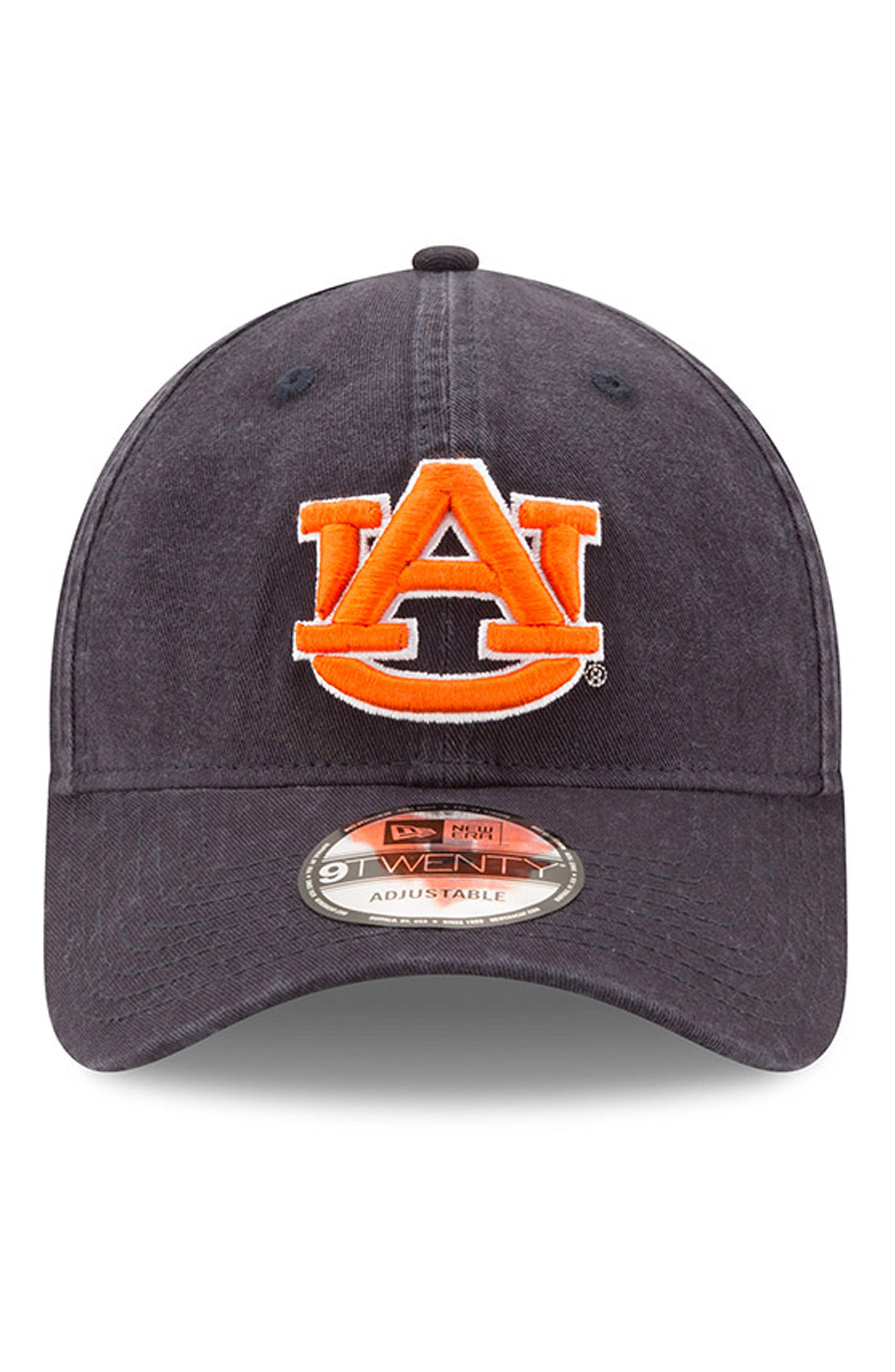 New Era Collegiate Core Classic - Auburn Tigers Baseball Cap,                             Alternate thumbnail 5, color,                             Auburn Tigers