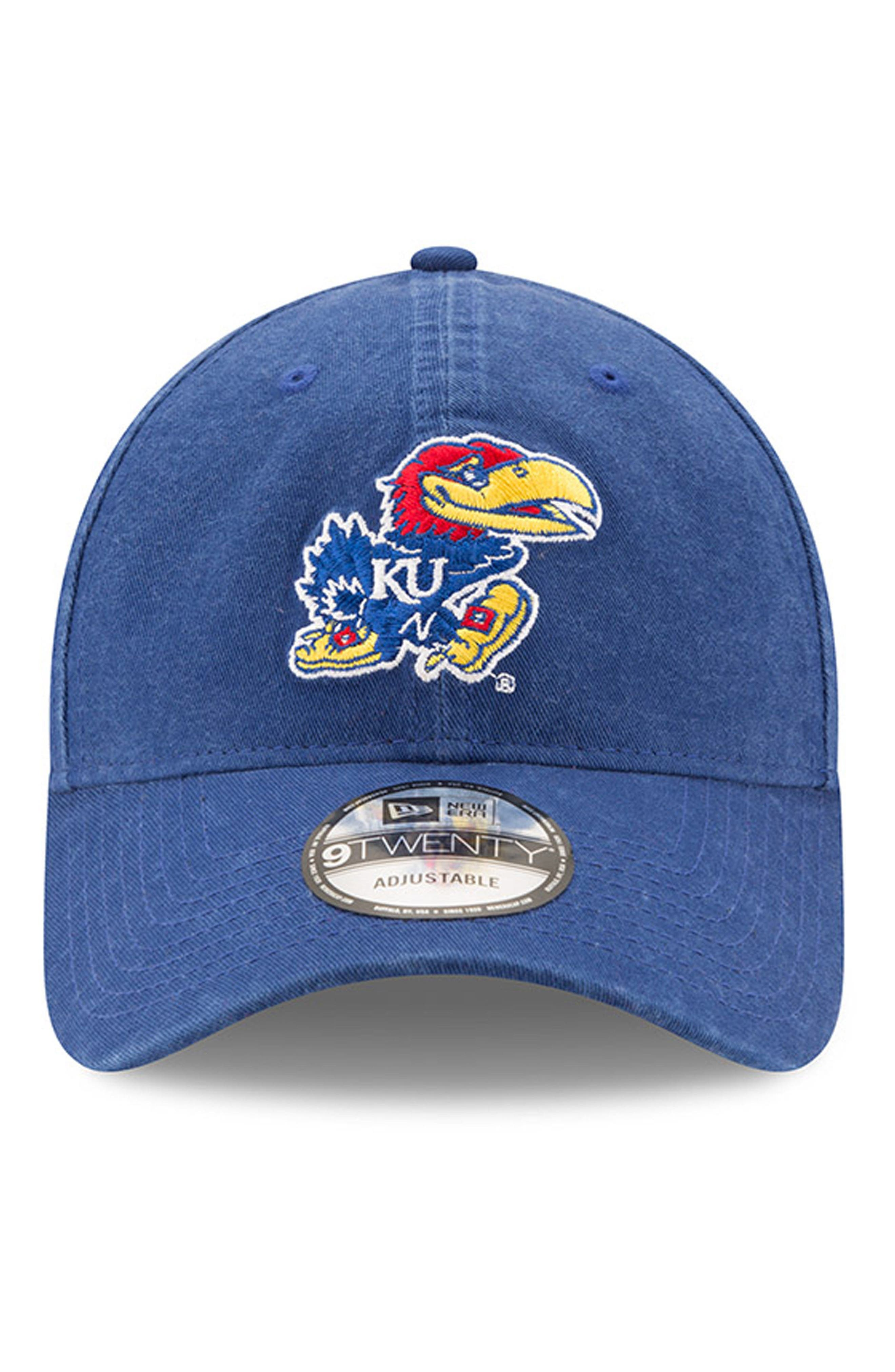 Alternate Image 5  - New Era Collegiate Core Classic - Kansas Jayhawks Baseball Cap