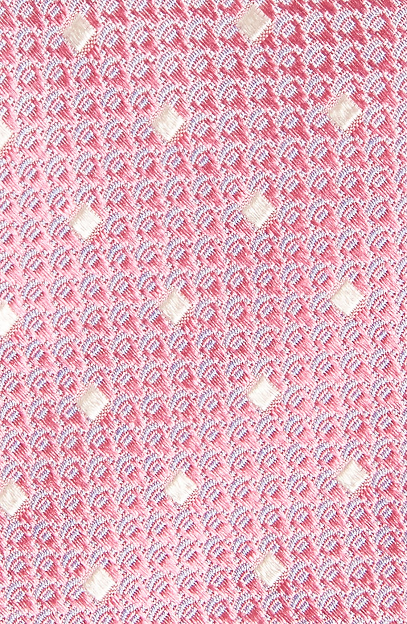 Contrada Dot Silk Tie,                             Alternate thumbnail 2, color,                             Pink
