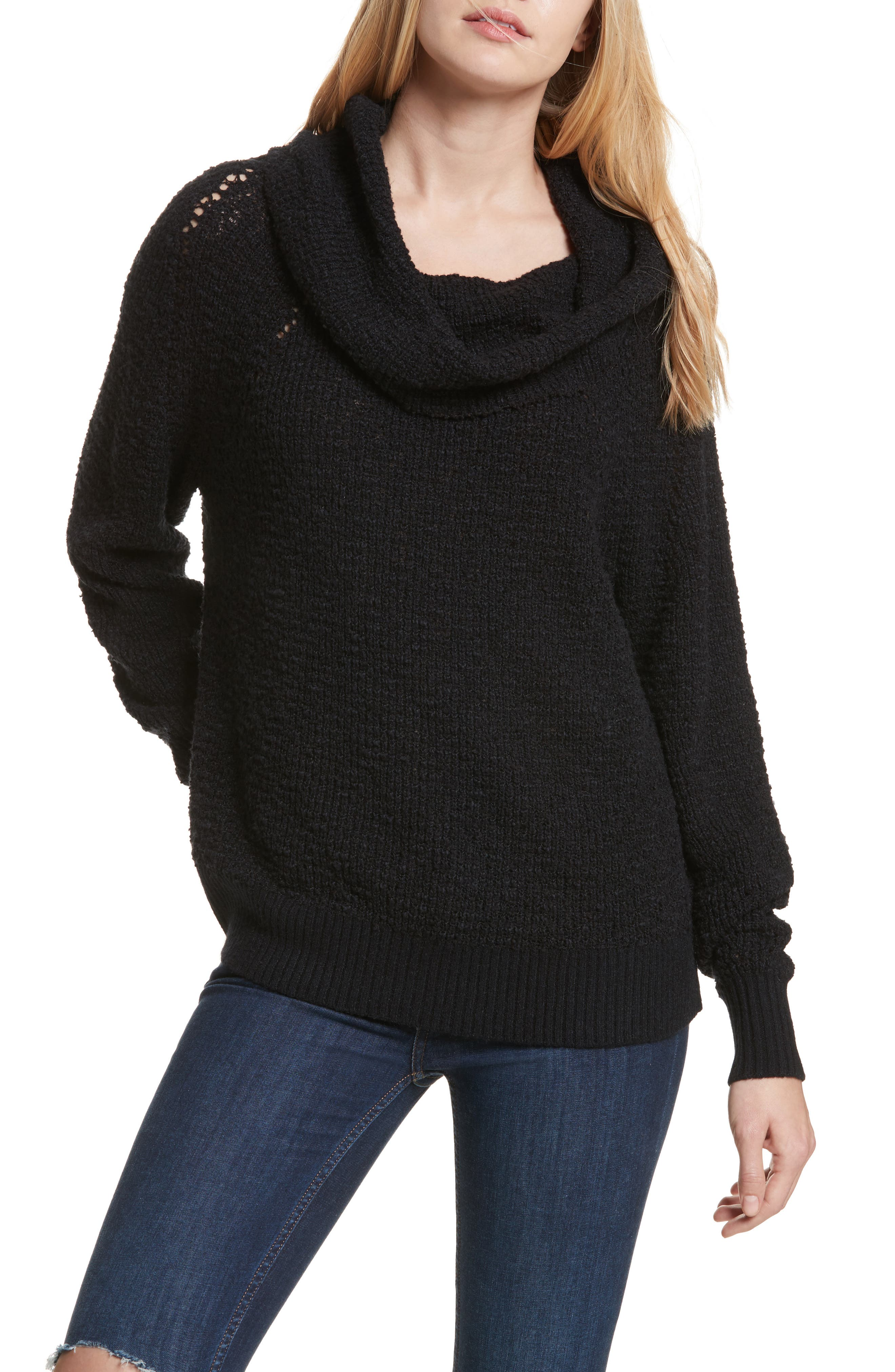 By Your Side Sweater,                         Main,                         color, Black