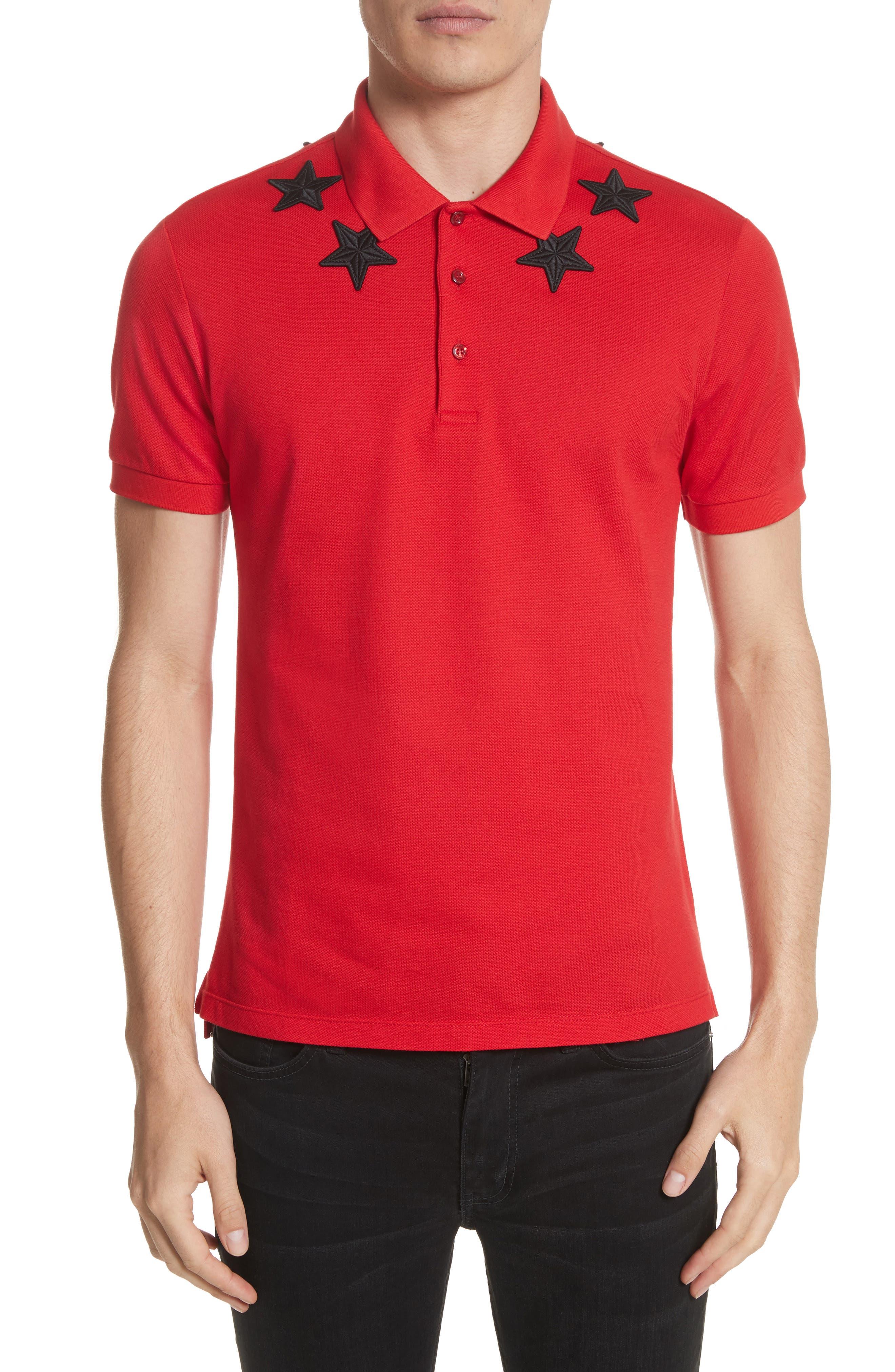 Givenchy Star Polo Shirt