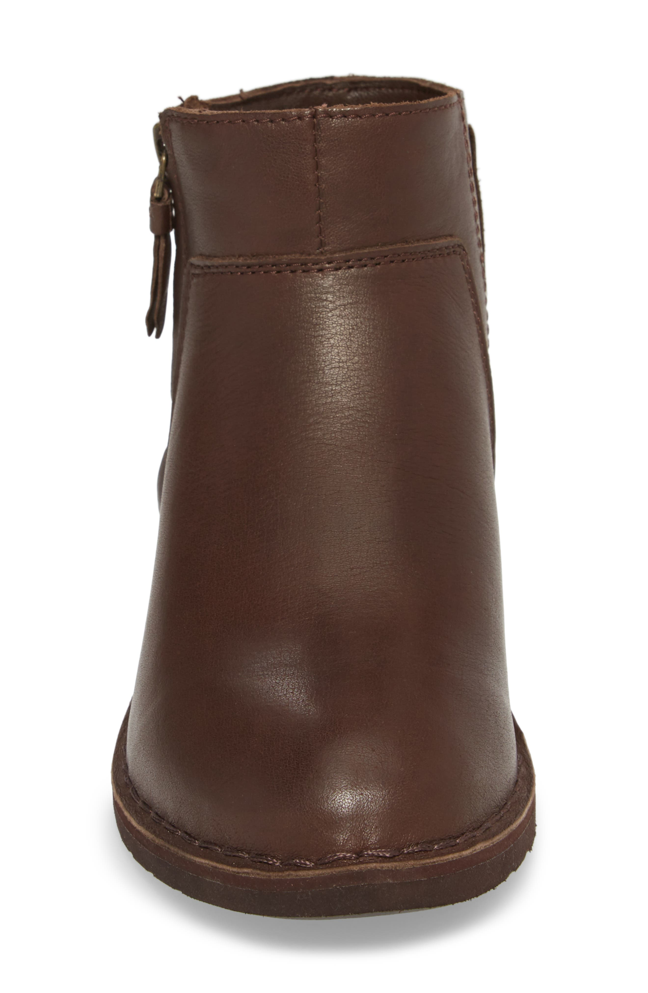 Rea Bootie,                             Alternate thumbnail 4, color,                             Stout Leather