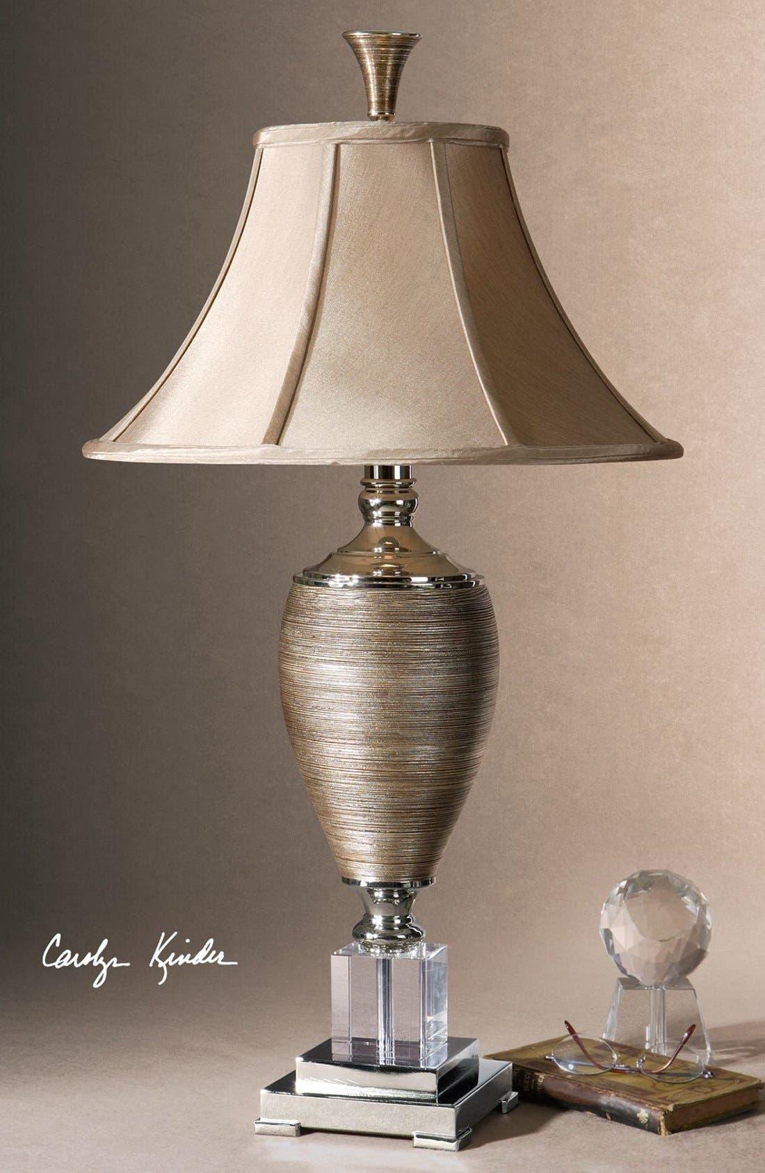 'Abriella' Table Lamp,                             Alternate thumbnail 2, color,                             Gold