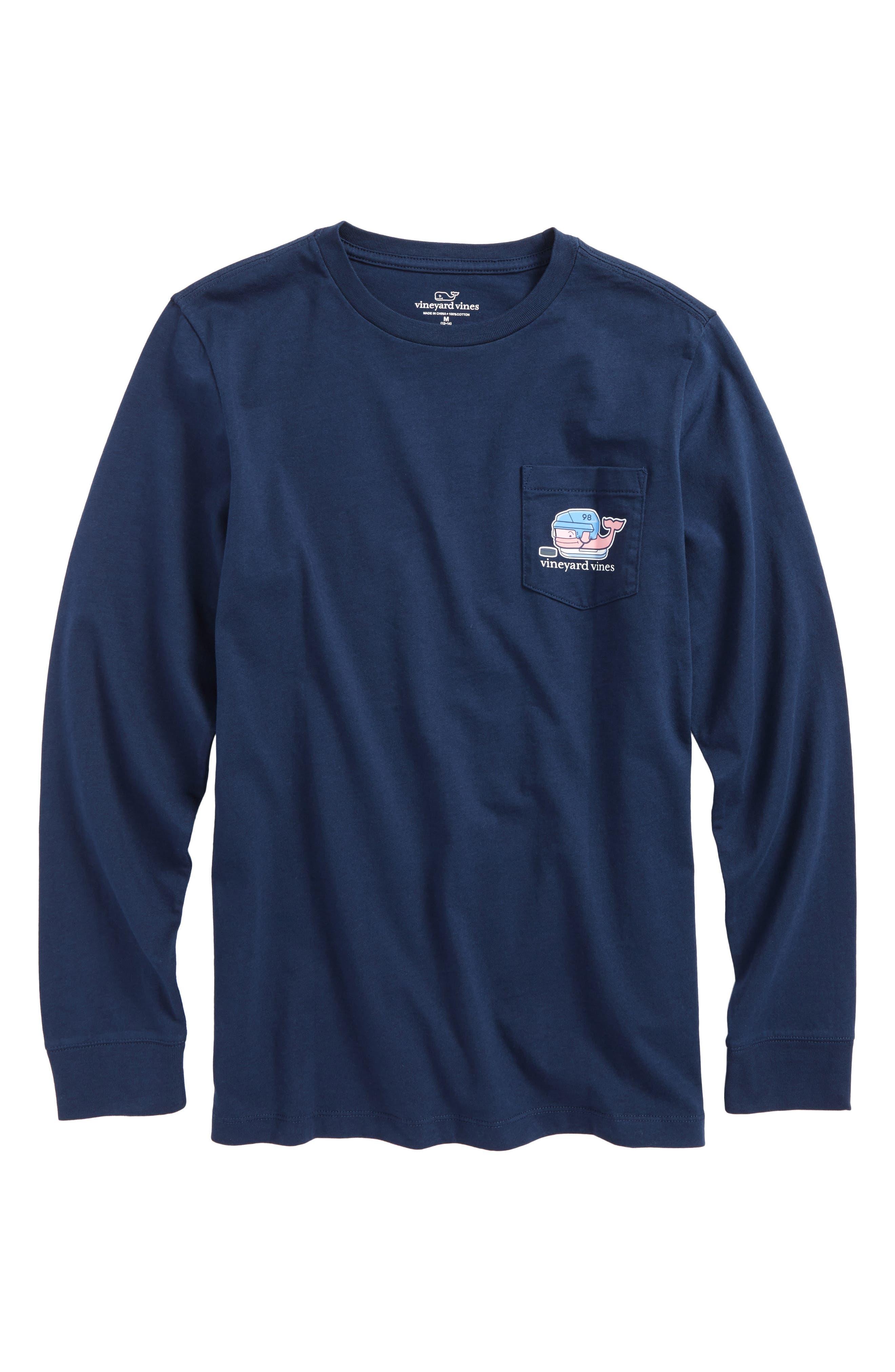 Vineyard Vines Hockey Whale T-Shirt (Big Boys)
