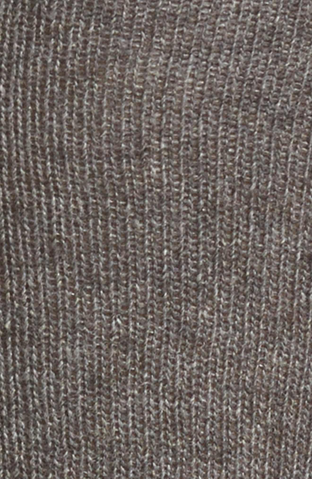 Knee High Socks,                             Alternate thumbnail 2, color,                             Charcoal
