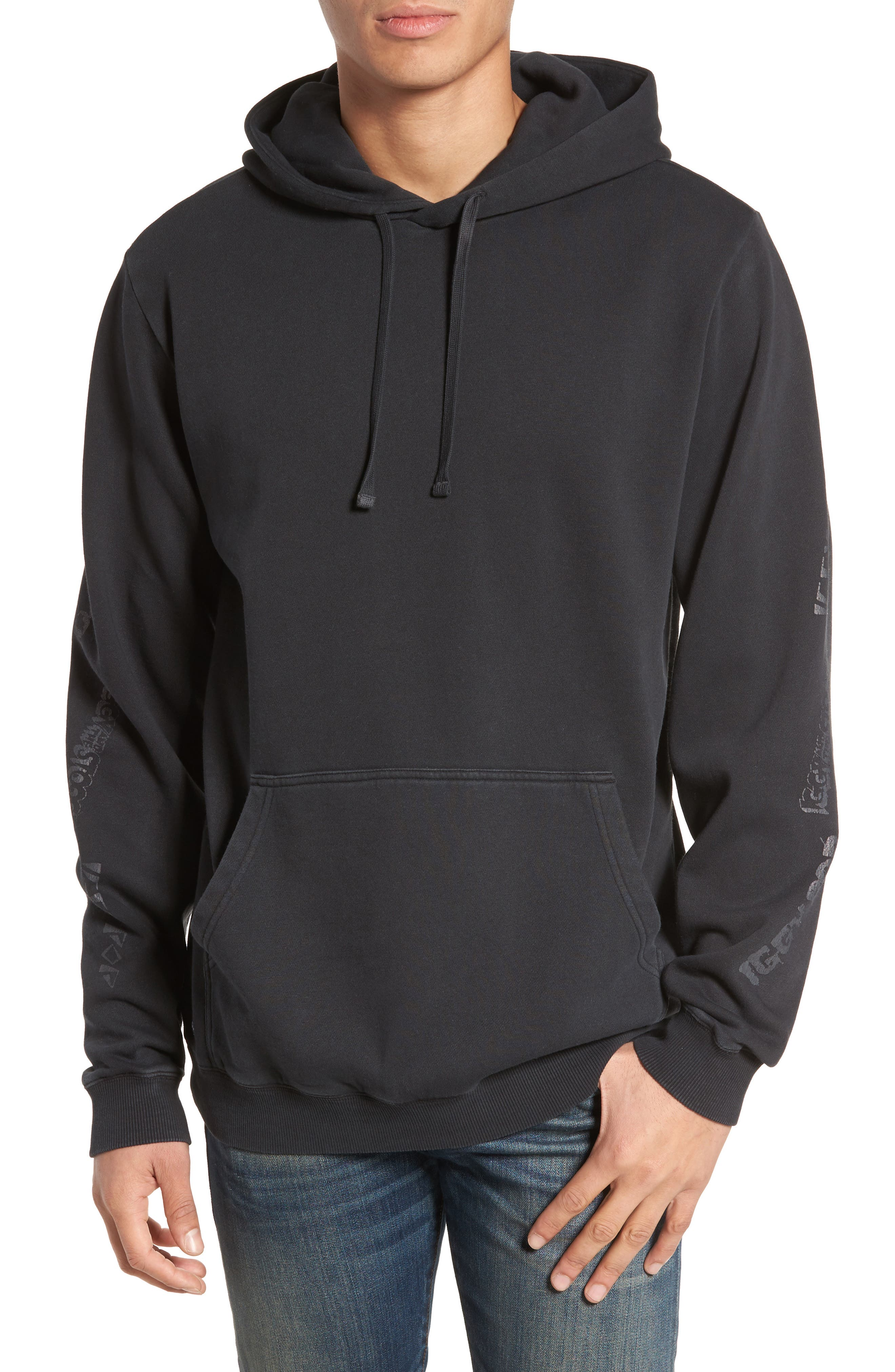 x Iggy Pop LAB Hoodie,                             Main thumbnail 1, color,                             Black