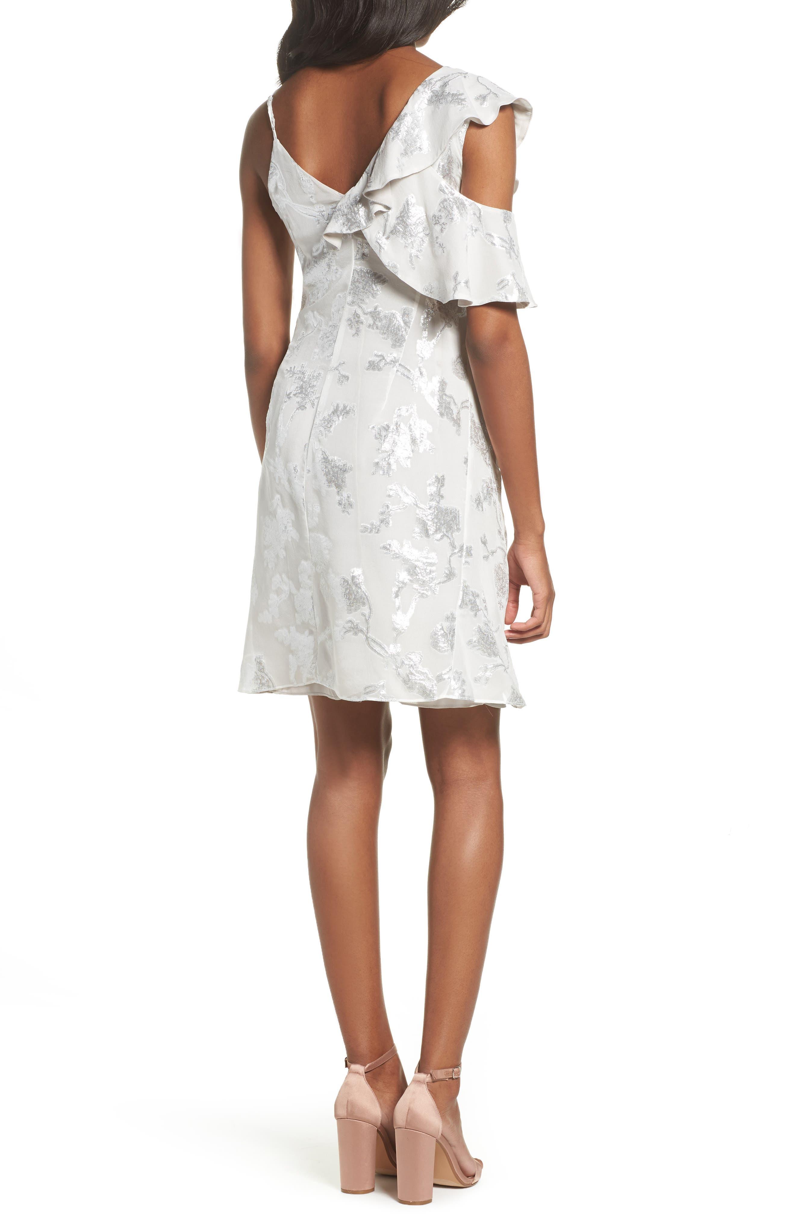 Alternate Image 2  - Bardot Cold Shoulder Wrap Dress