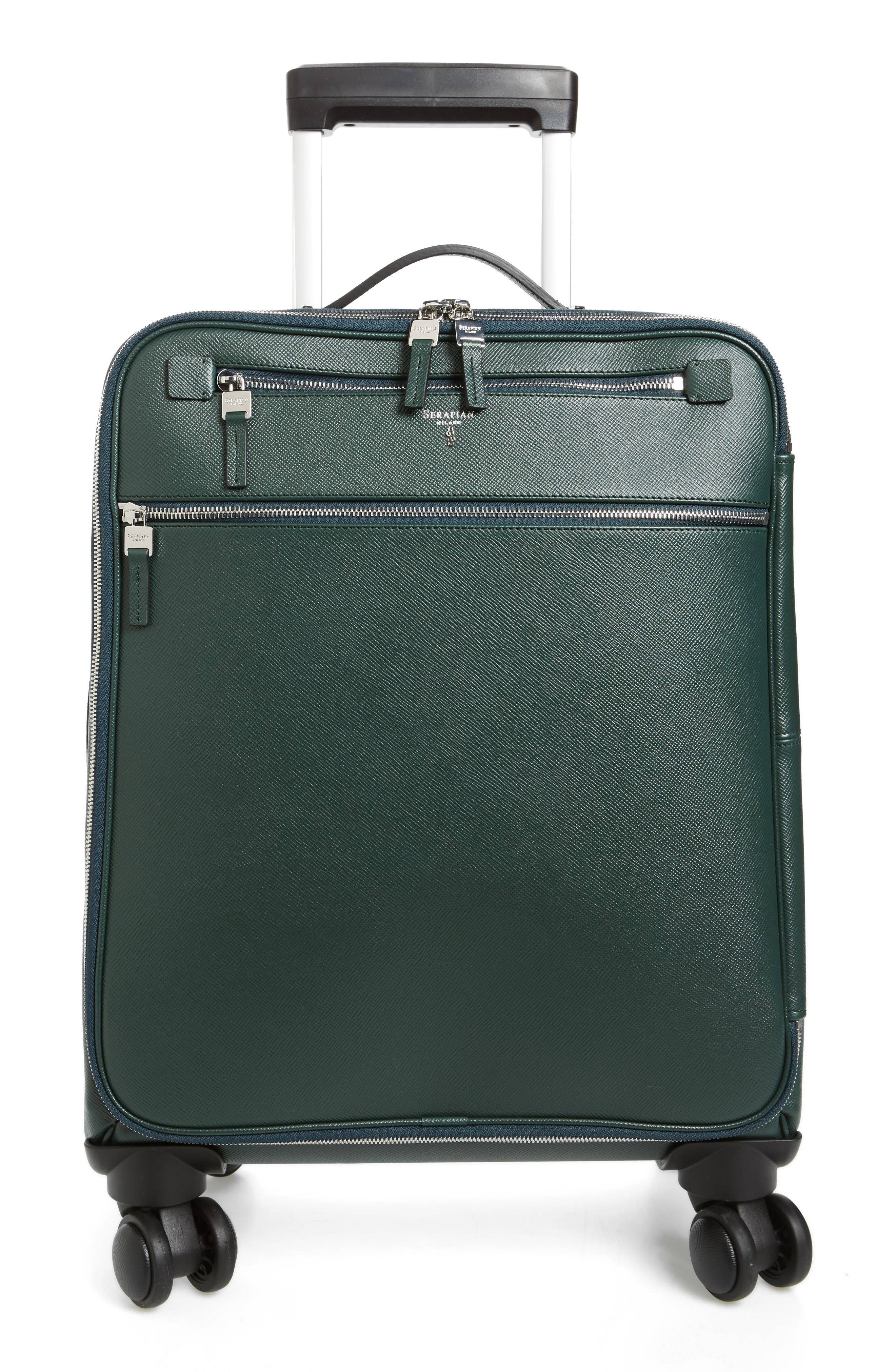 Alternate Image 1 Selected - Serapian Milano Trolley Spinner Wheeled Carry-On Suitcase