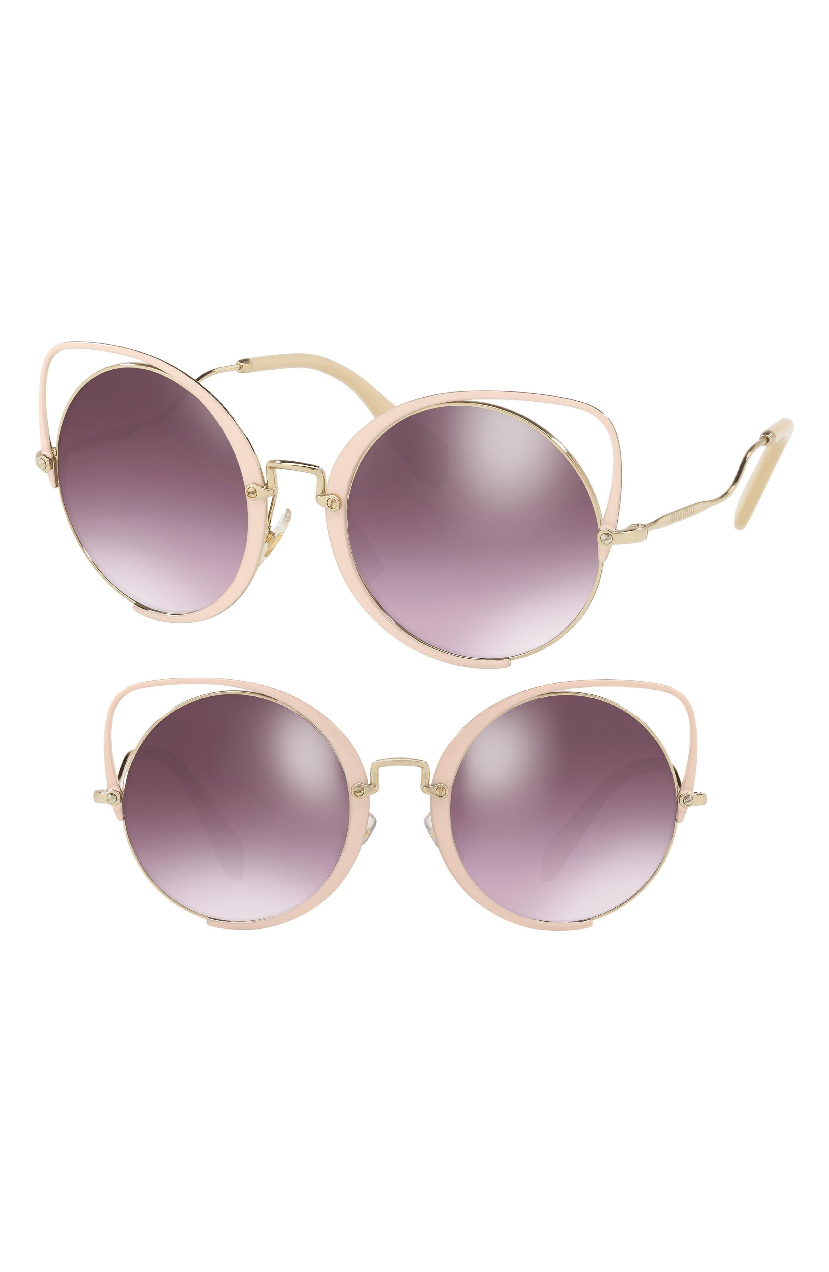 c662435fc8 Women s Miu Miu Cat-Eye Sunglasses