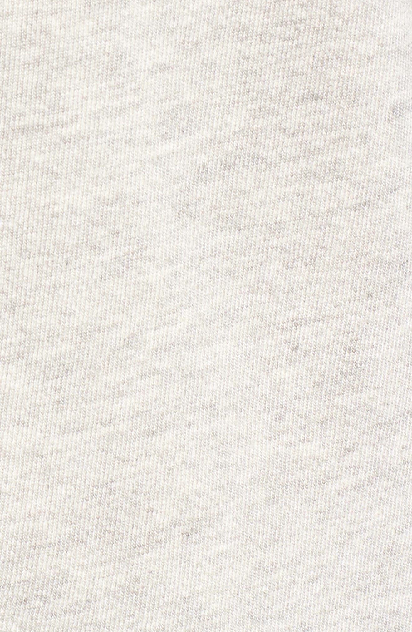 Helix Turtleneck Sweatshirt,                             Alternate thumbnail 5, color,                             Heather Grey