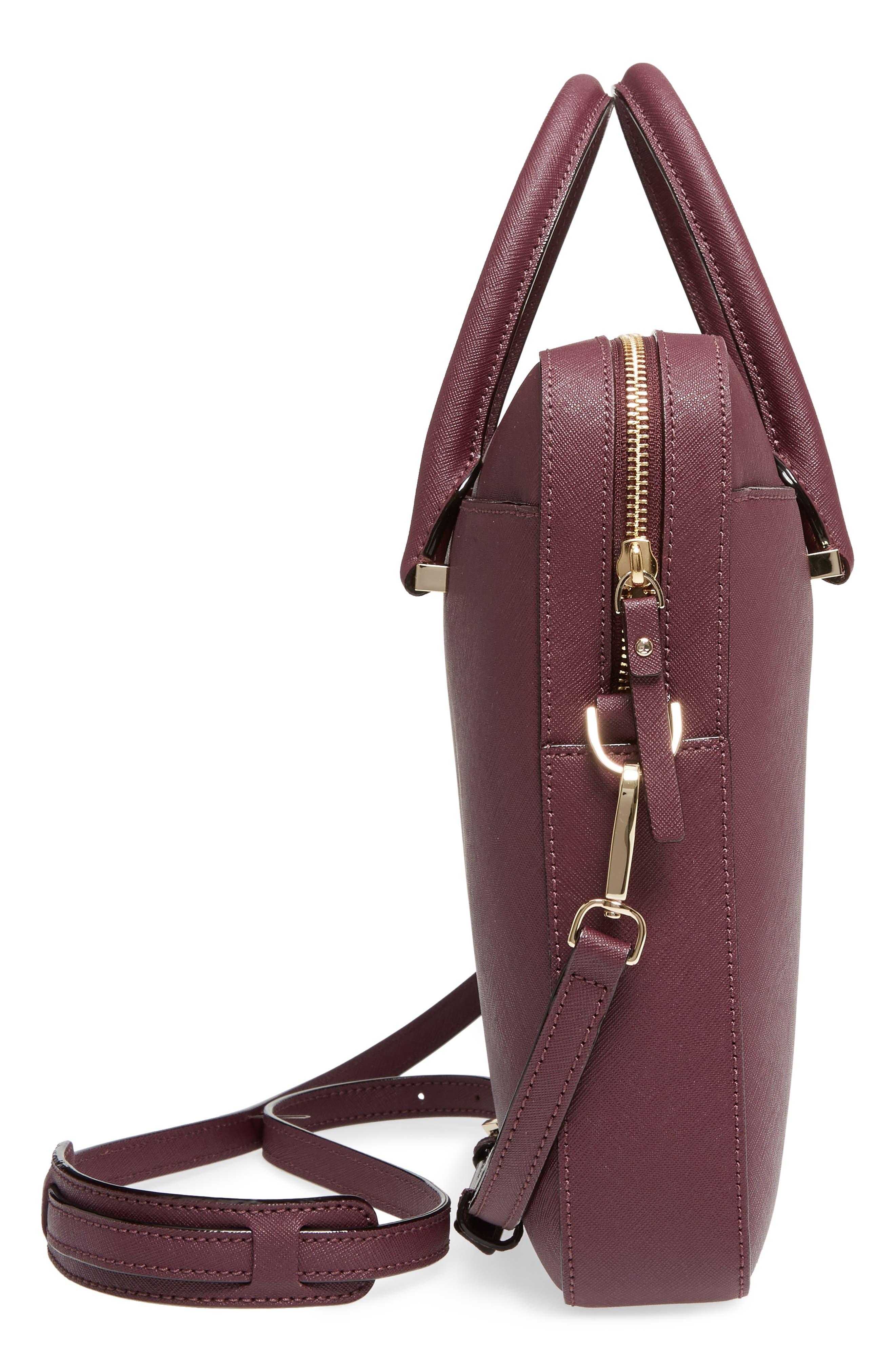 Alternate Image 4  - kate spade new york saffiano leather laptop bag