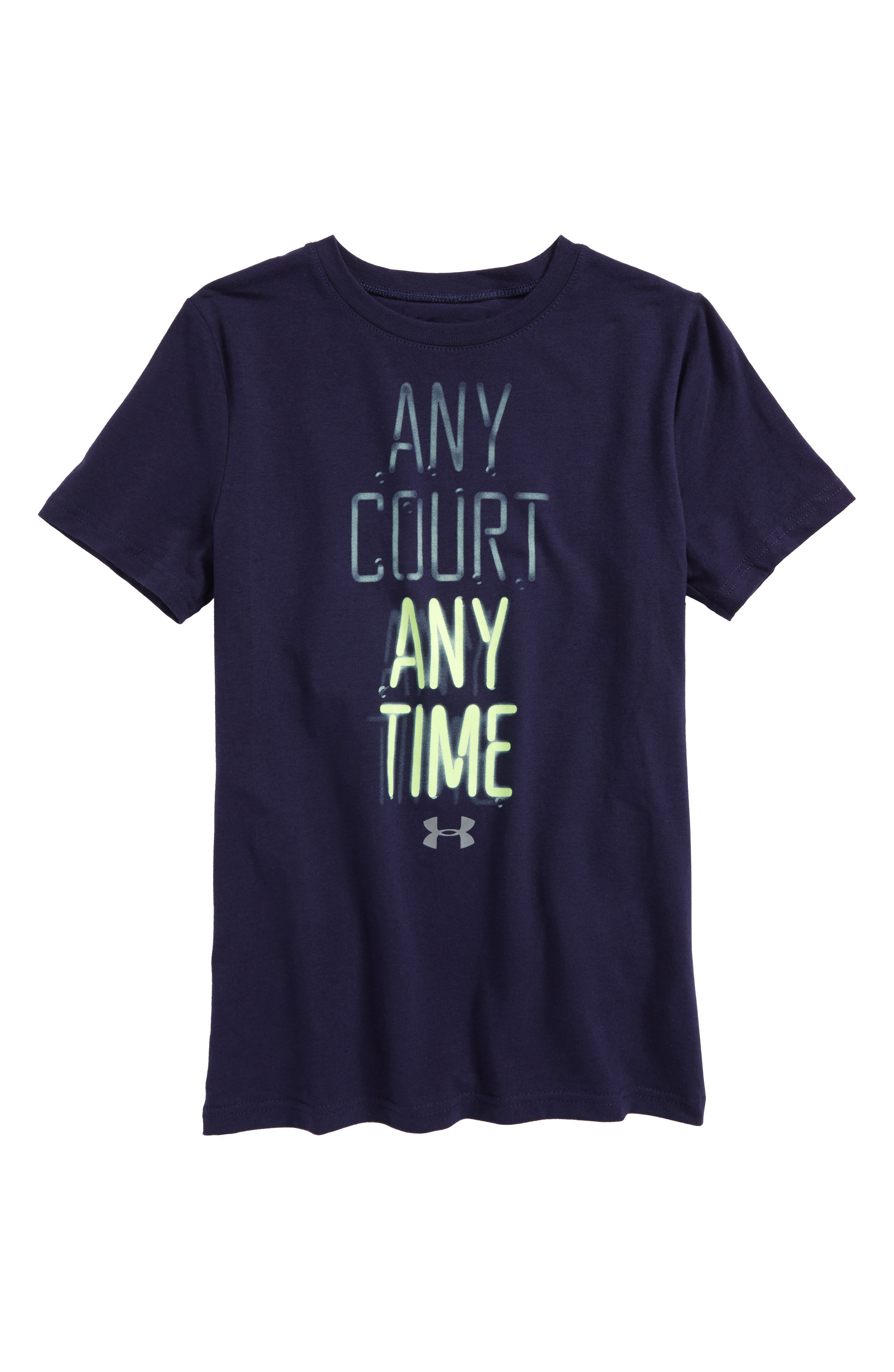 Under Armour Any Court, Any Time HeatGear® T-Shirt (Big Boys)