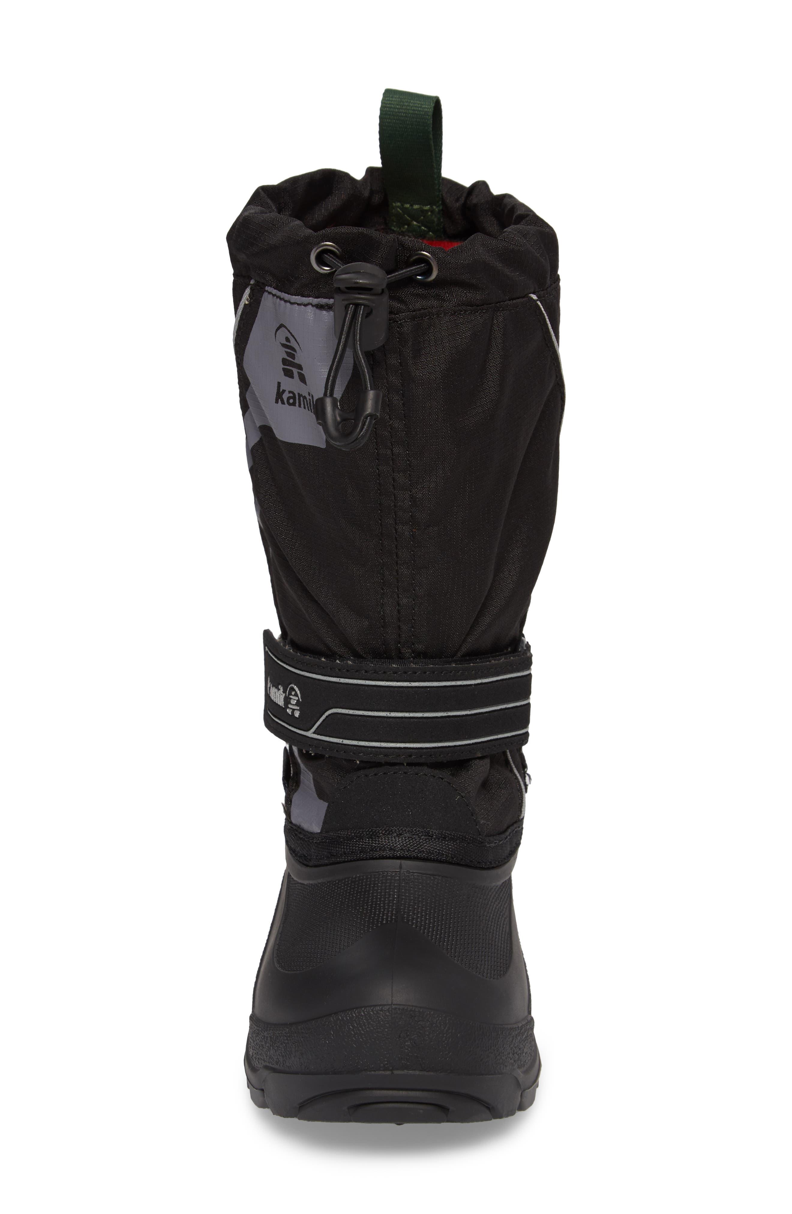 Alternate Image 4  - Kamik Snowcoast3 Waterproof Snow Boot (Toddler, Little Kid & Big Kid)