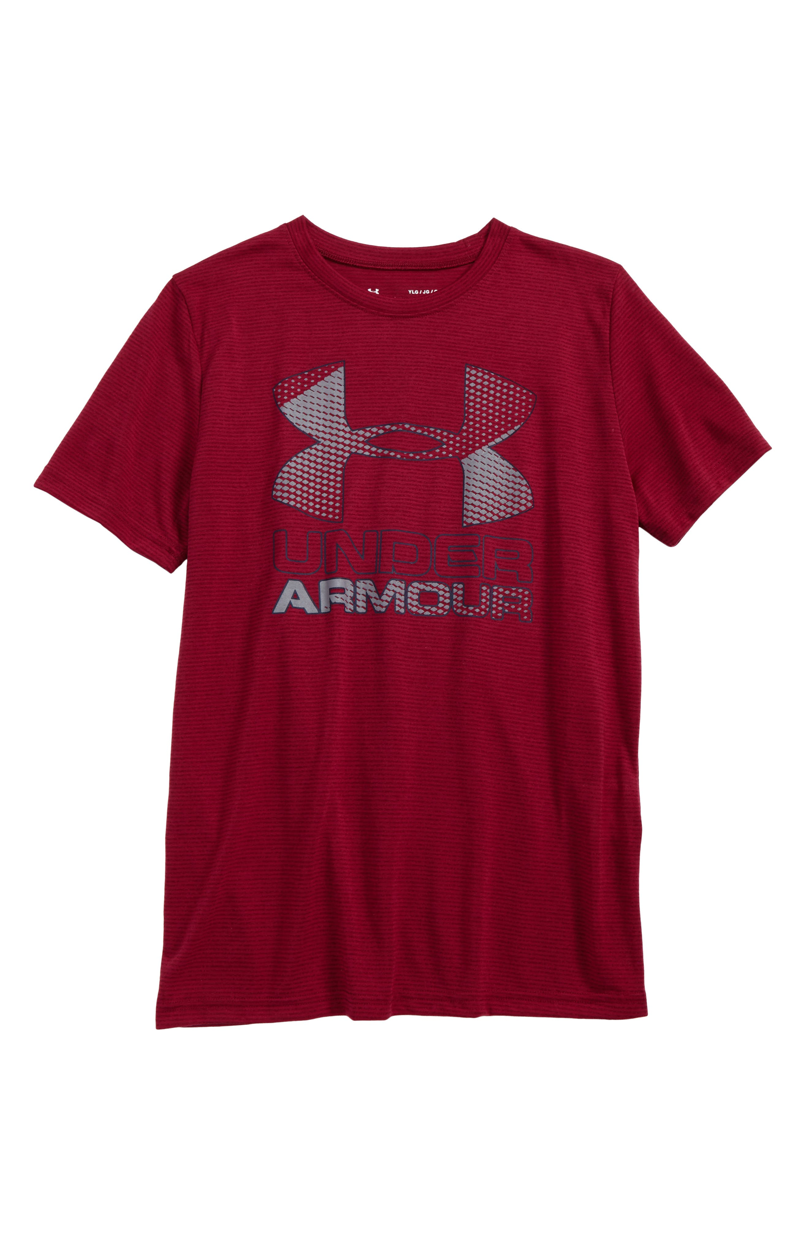 Under Armour Big Logo Hybrid 2.0 HeatGear® T-Shirt (Little Boys & Big Boys)