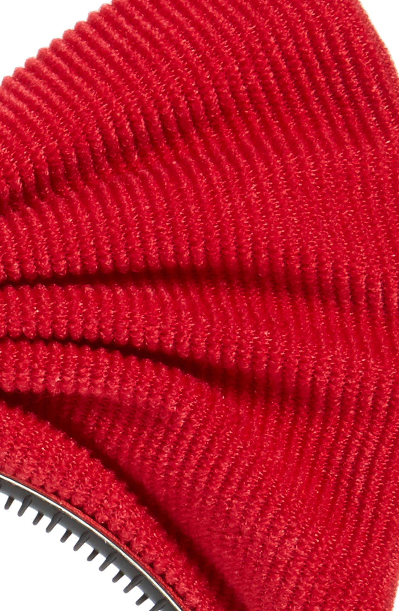 Manière Corduroy Bow Headband,                             Alternate thumbnail 2, color,                             Red