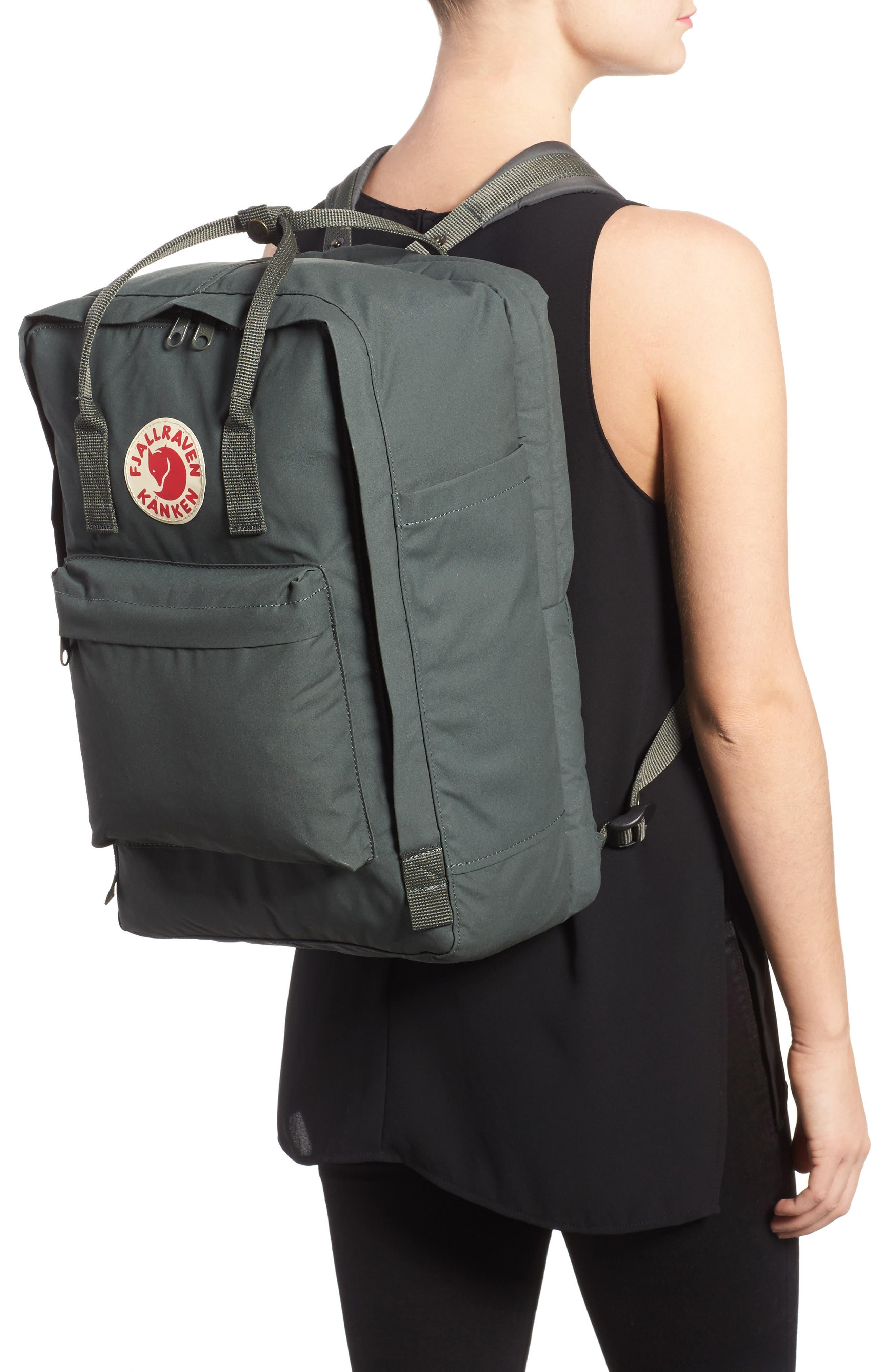 'Kånken' Laptop Backpack,                             Alternate thumbnail 2, color,                             Forest Green