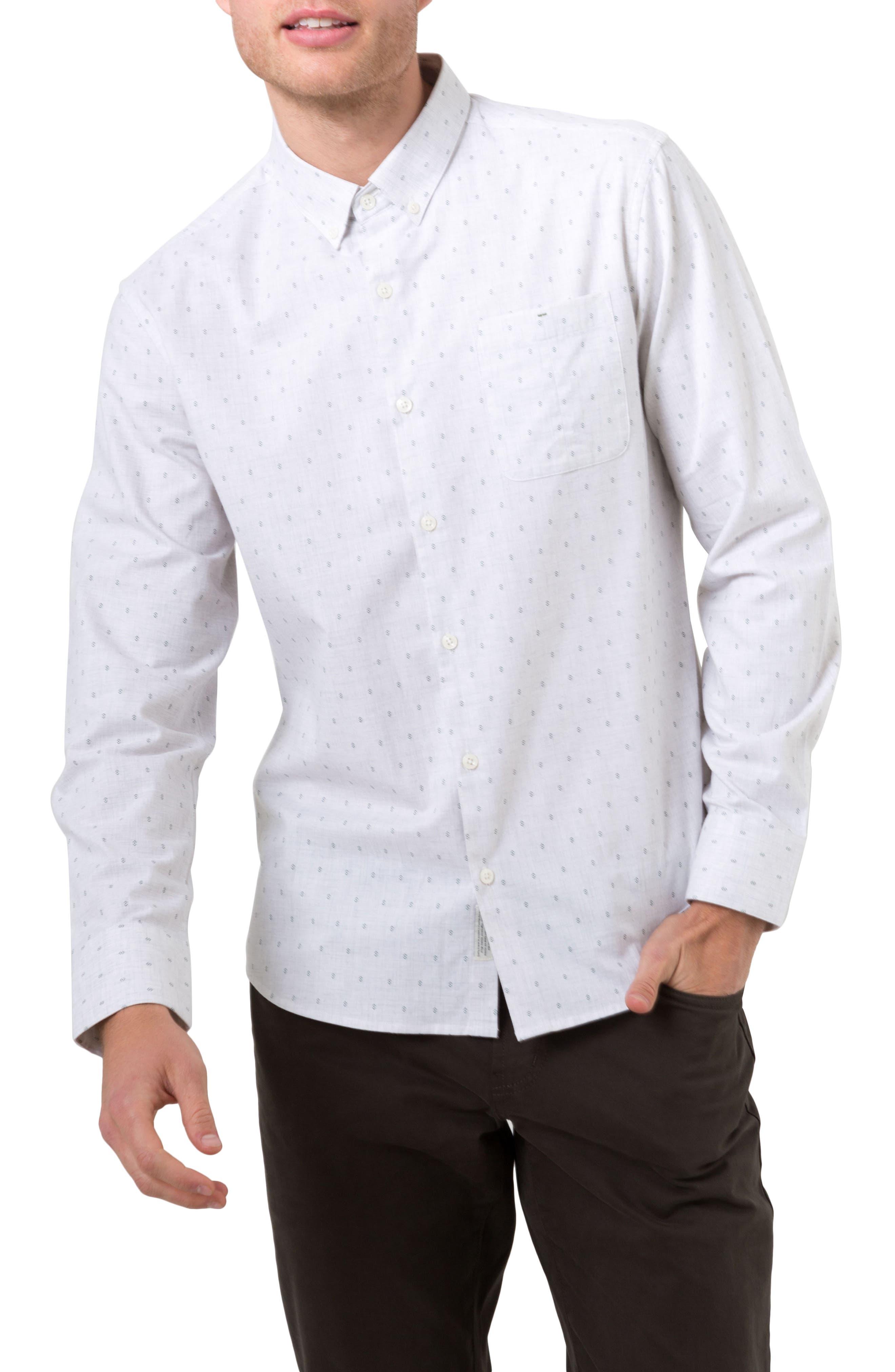 First Light Woven Shirt,                             Main thumbnail 1, color,                             Oat