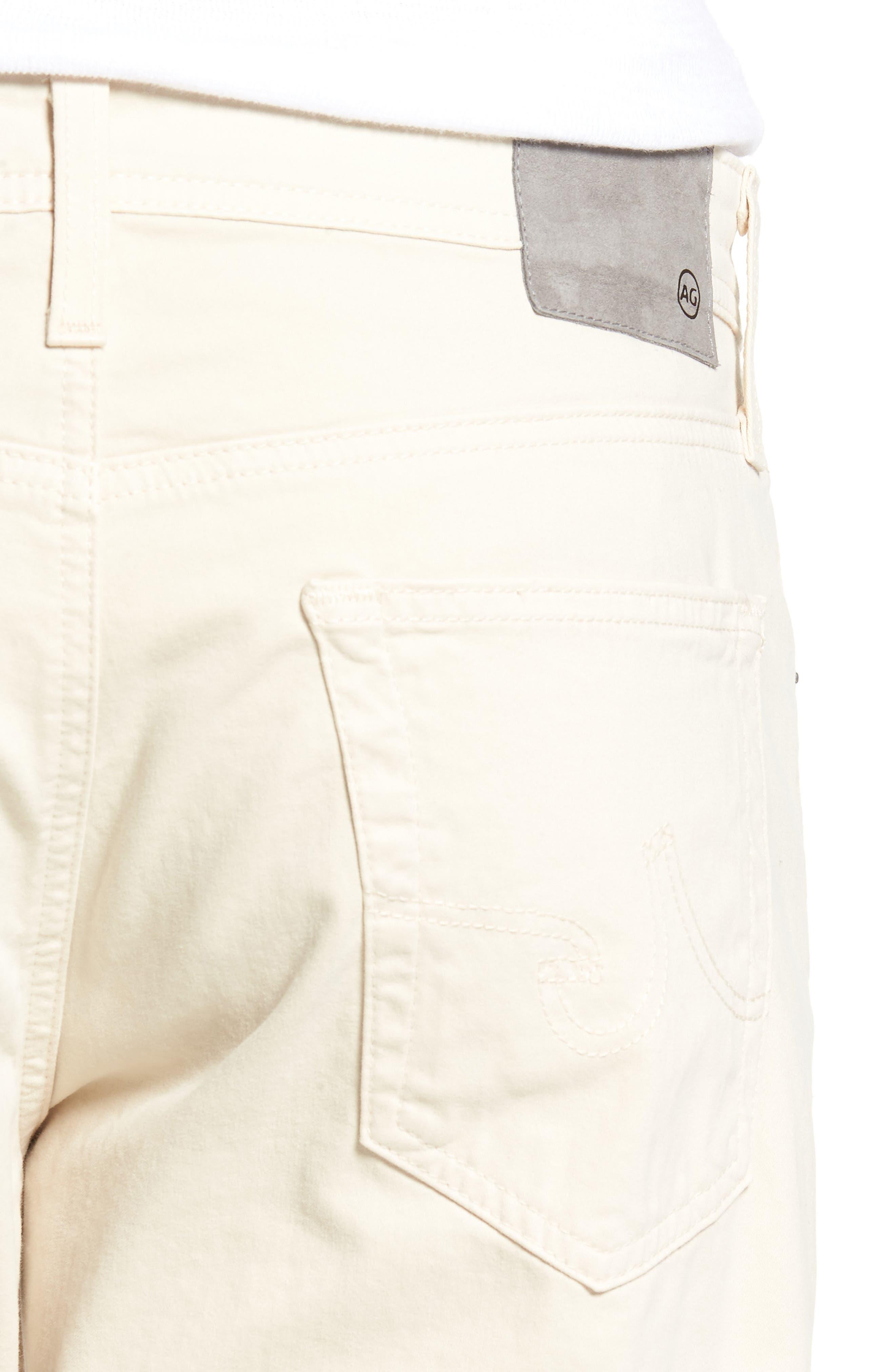 Alternate Image 4  - AG Graduate SUD Slim Straight Leg Pants