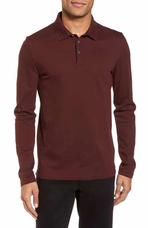 Men's Long Sleeve Polo Shirts: Long & Short Sleeved | Nordstrom