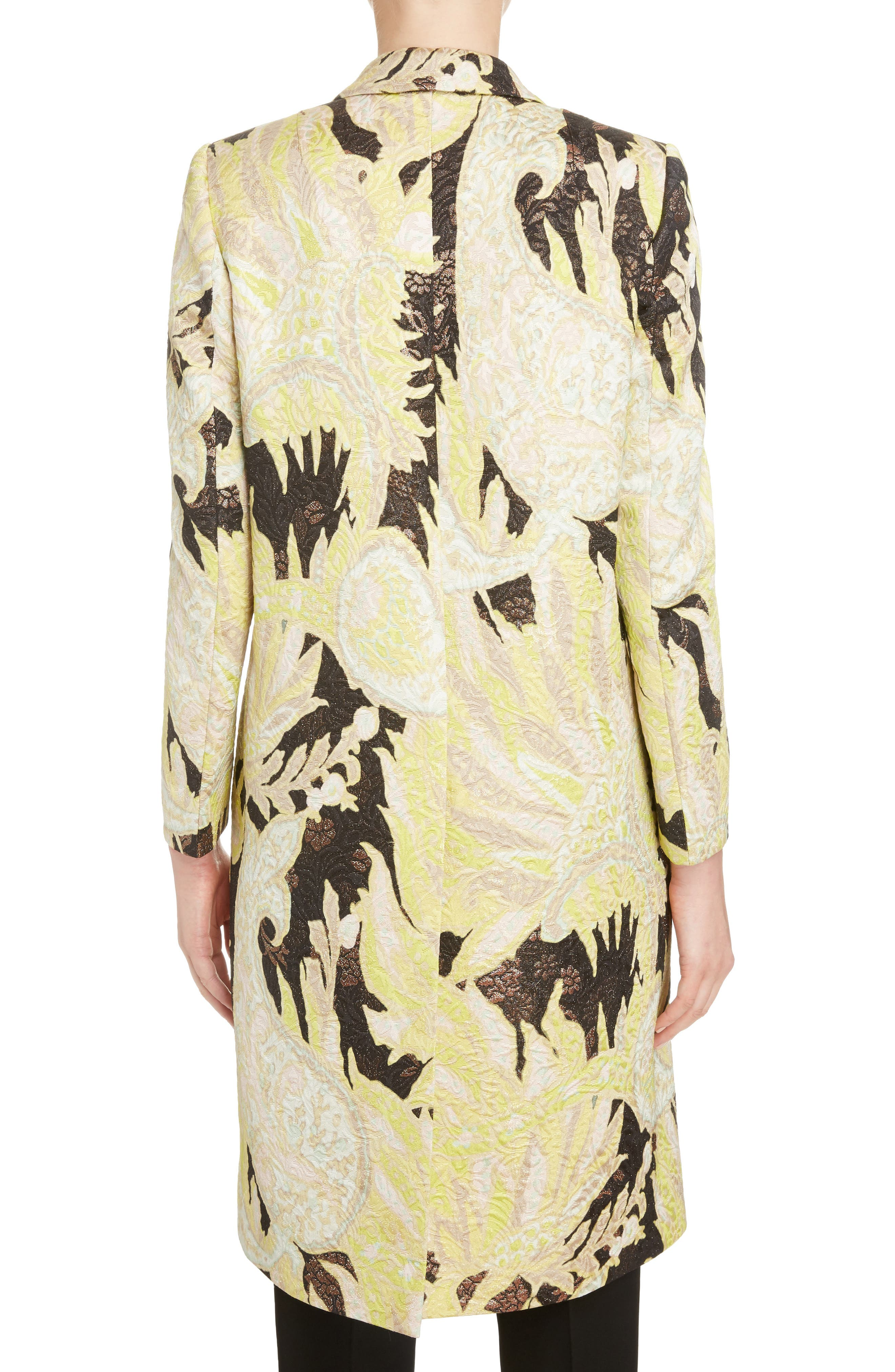 Alternate Image 2  - Dries Van Noten Paisley Brocade Coat