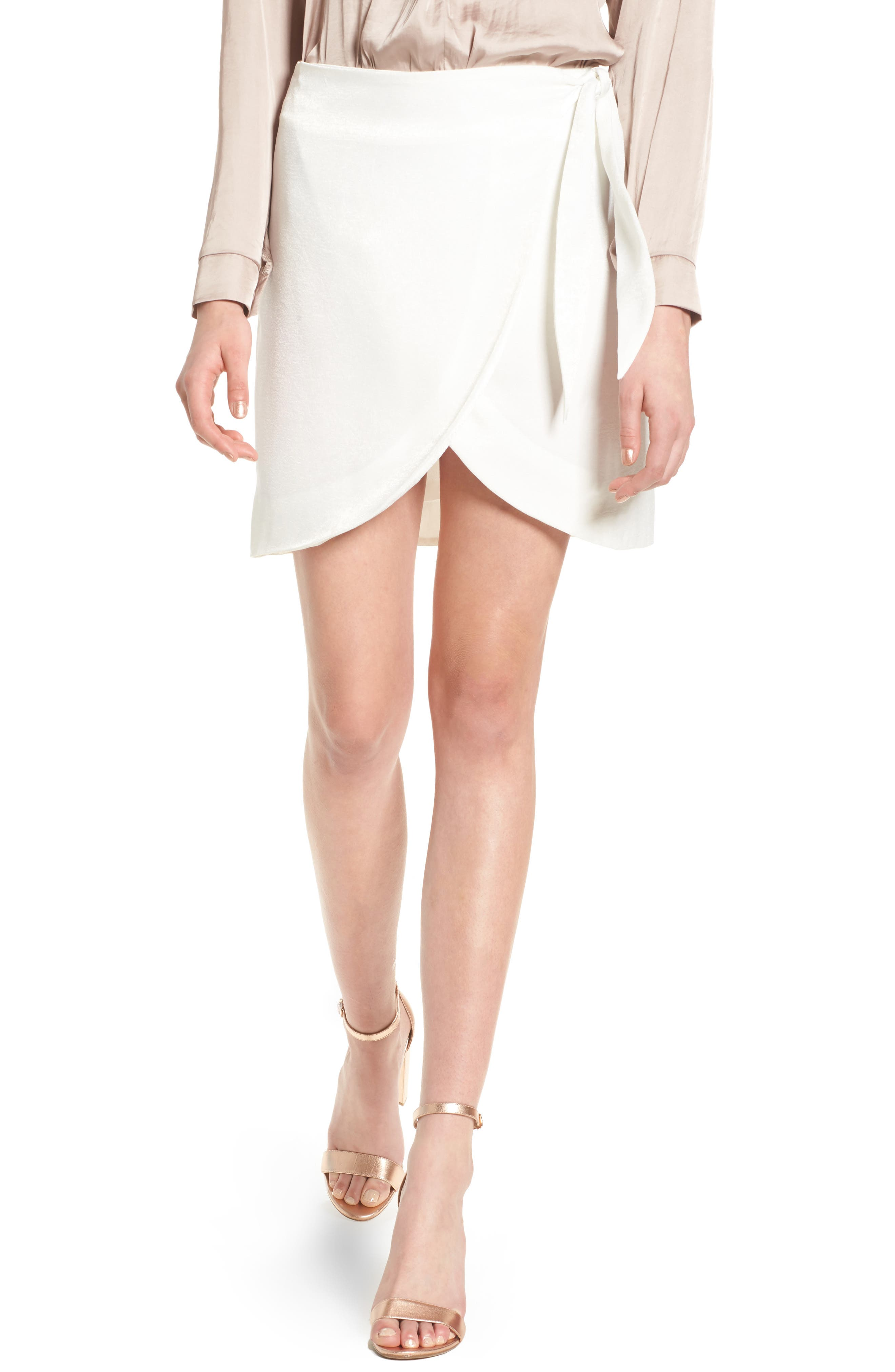Main Image - 4SI3NNA Wrap Skirt