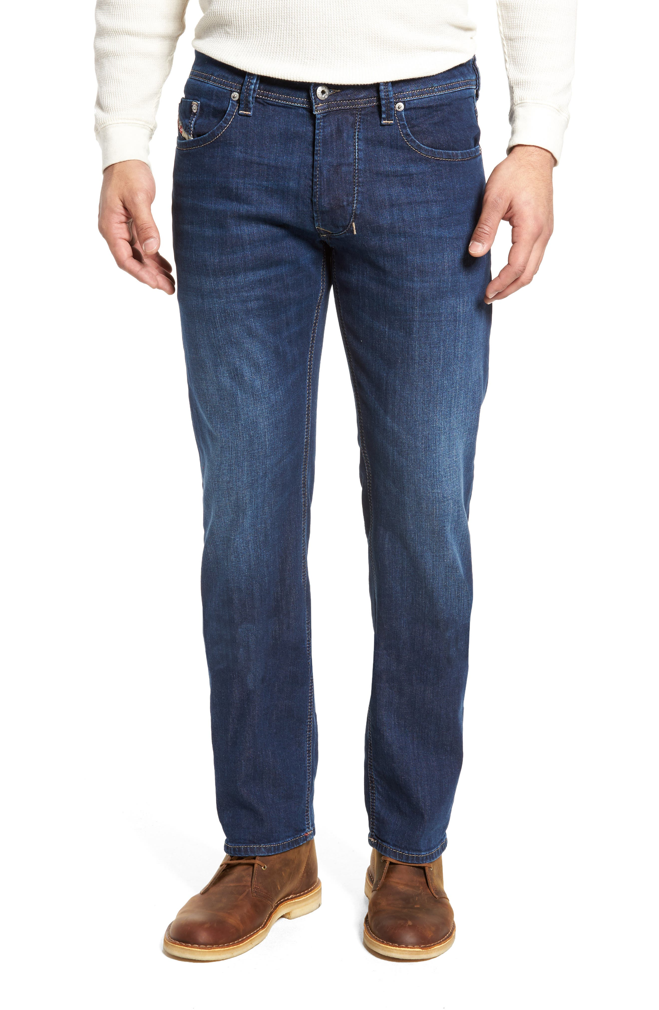 Larkee Relaxed Fit Jeans,                         Main,                         color, Denim