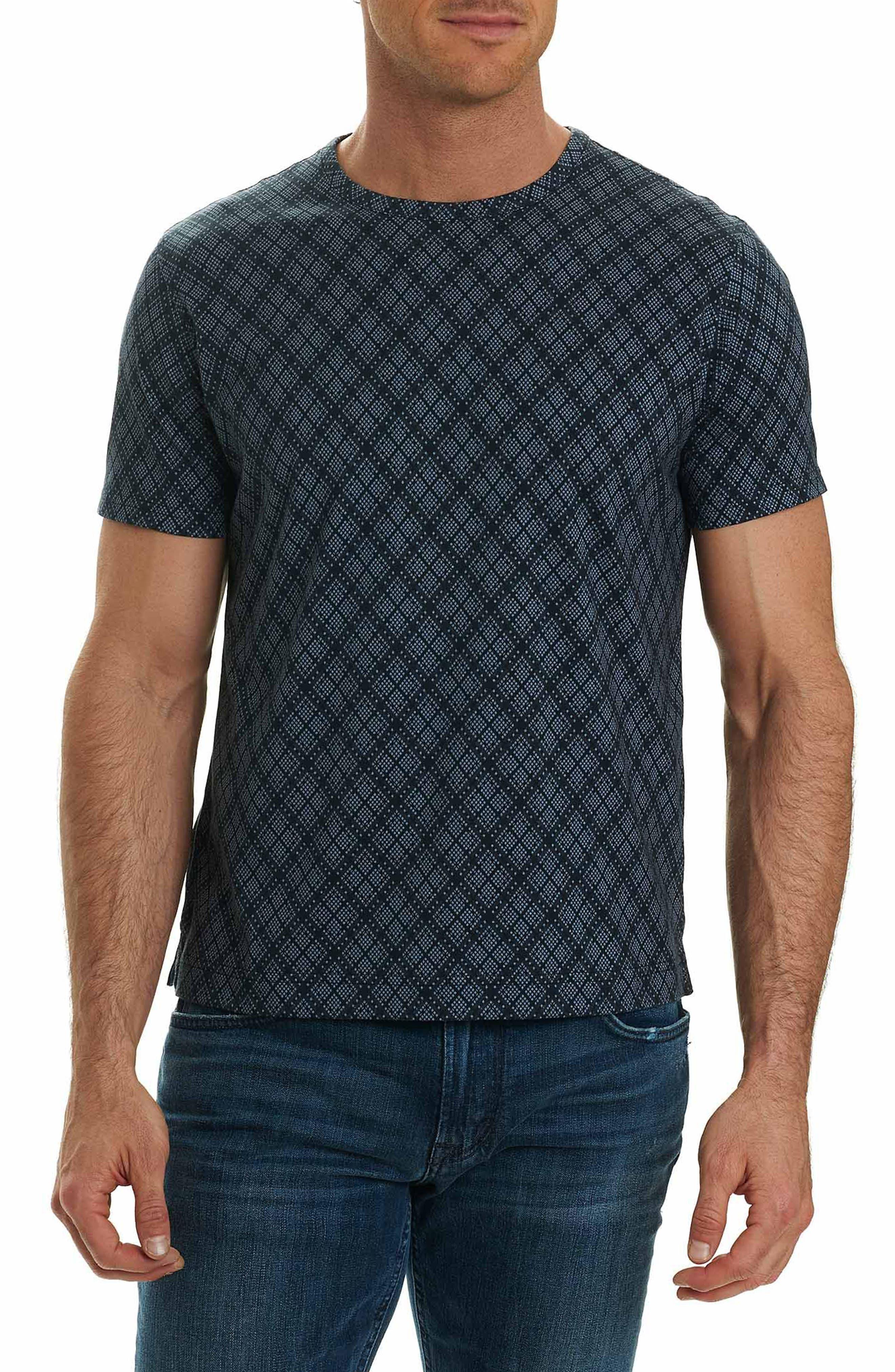 Tirana Print T-Shirt,                         Main,                         color, Charcoal