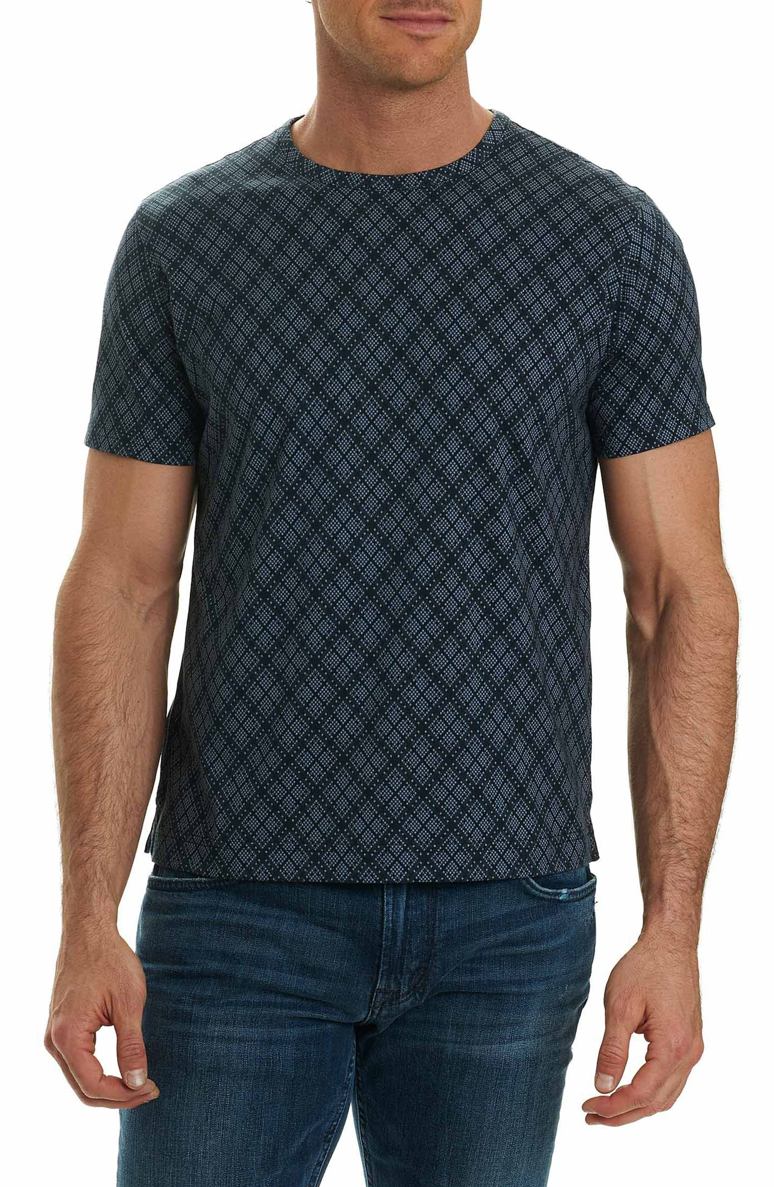 Robert Graham Tirana Print T-Shirt