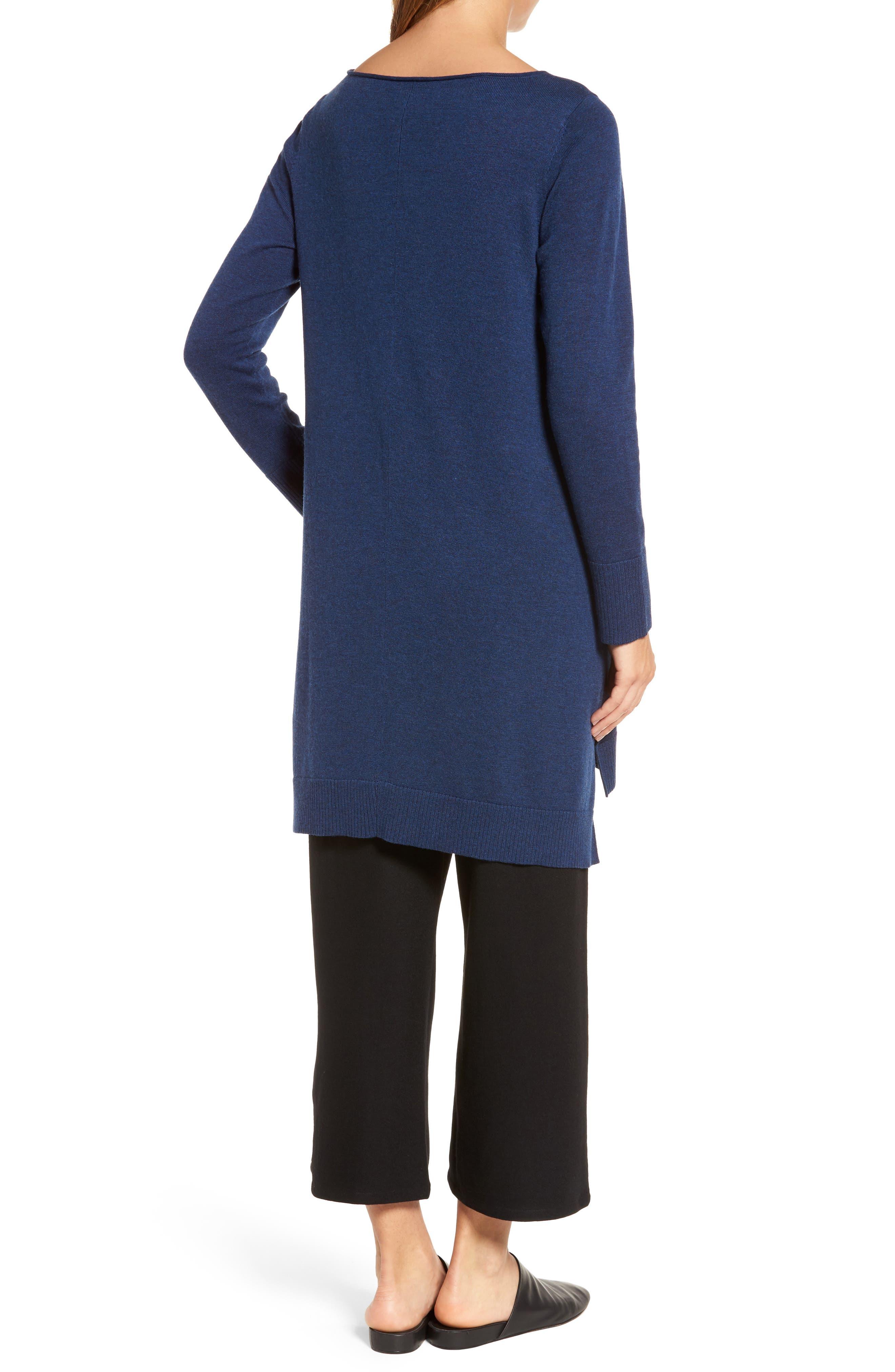 Layering Dress,                             Alternate thumbnail 2, color,                             Blue Bonnet