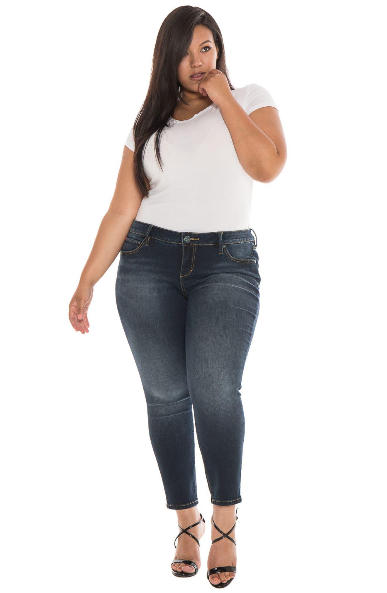 Skinny Ankle Jeans,                             Alternate thumbnail 2, color,                             Sal
