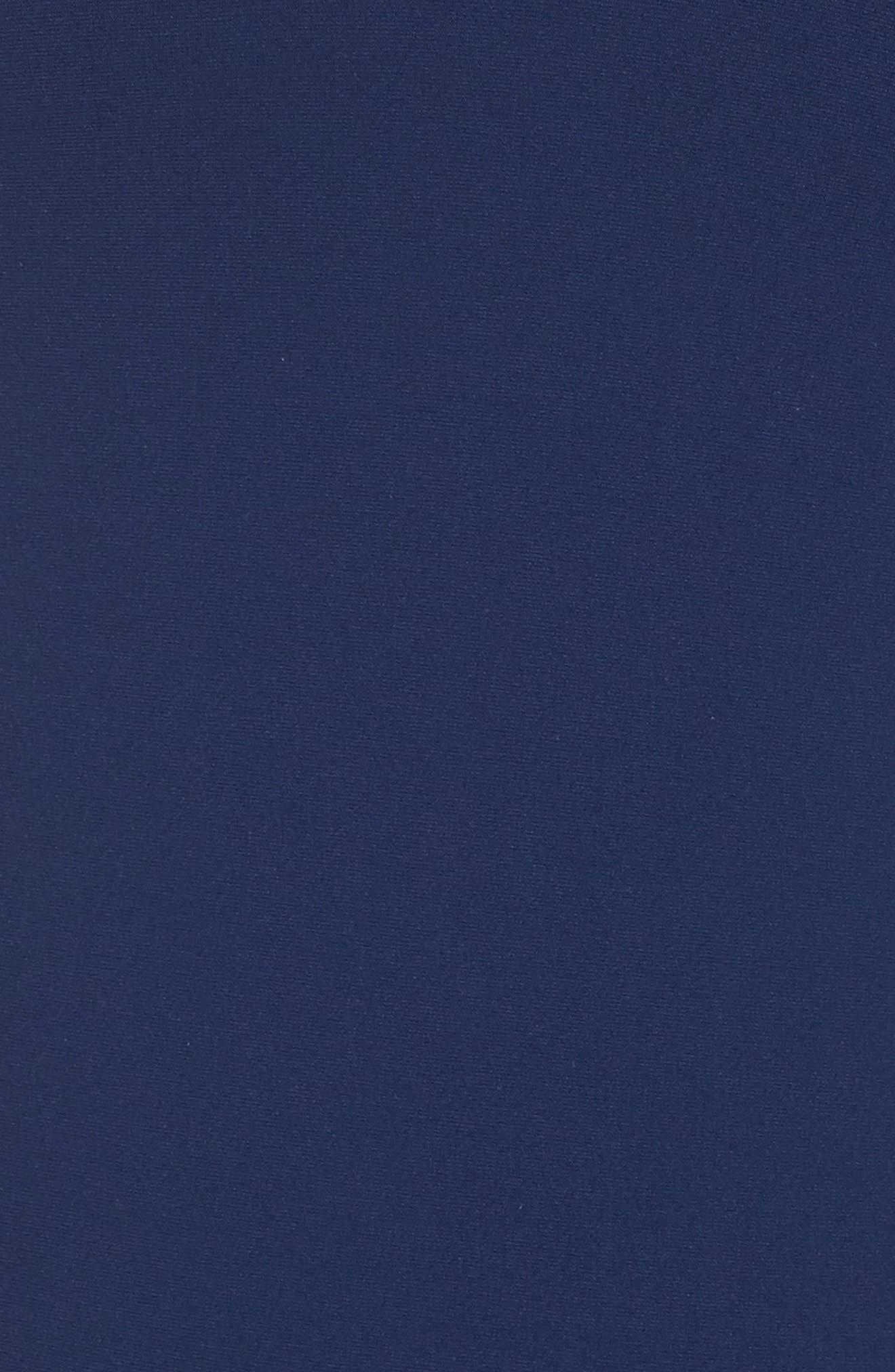 Farrah One-Piece Swimsuit,                             Alternate thumbnail 5, color,                             Starlight Blue