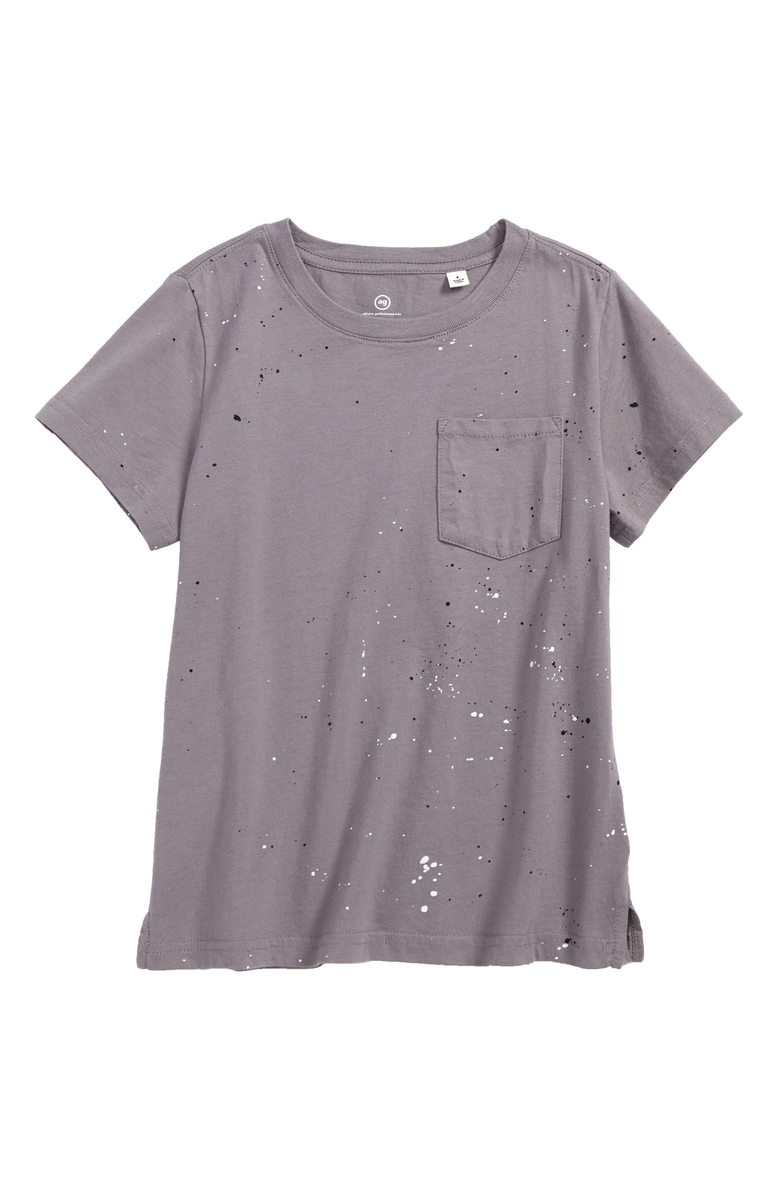 Pigment Splatter T-Shirt,                         Main,                         color, Smog