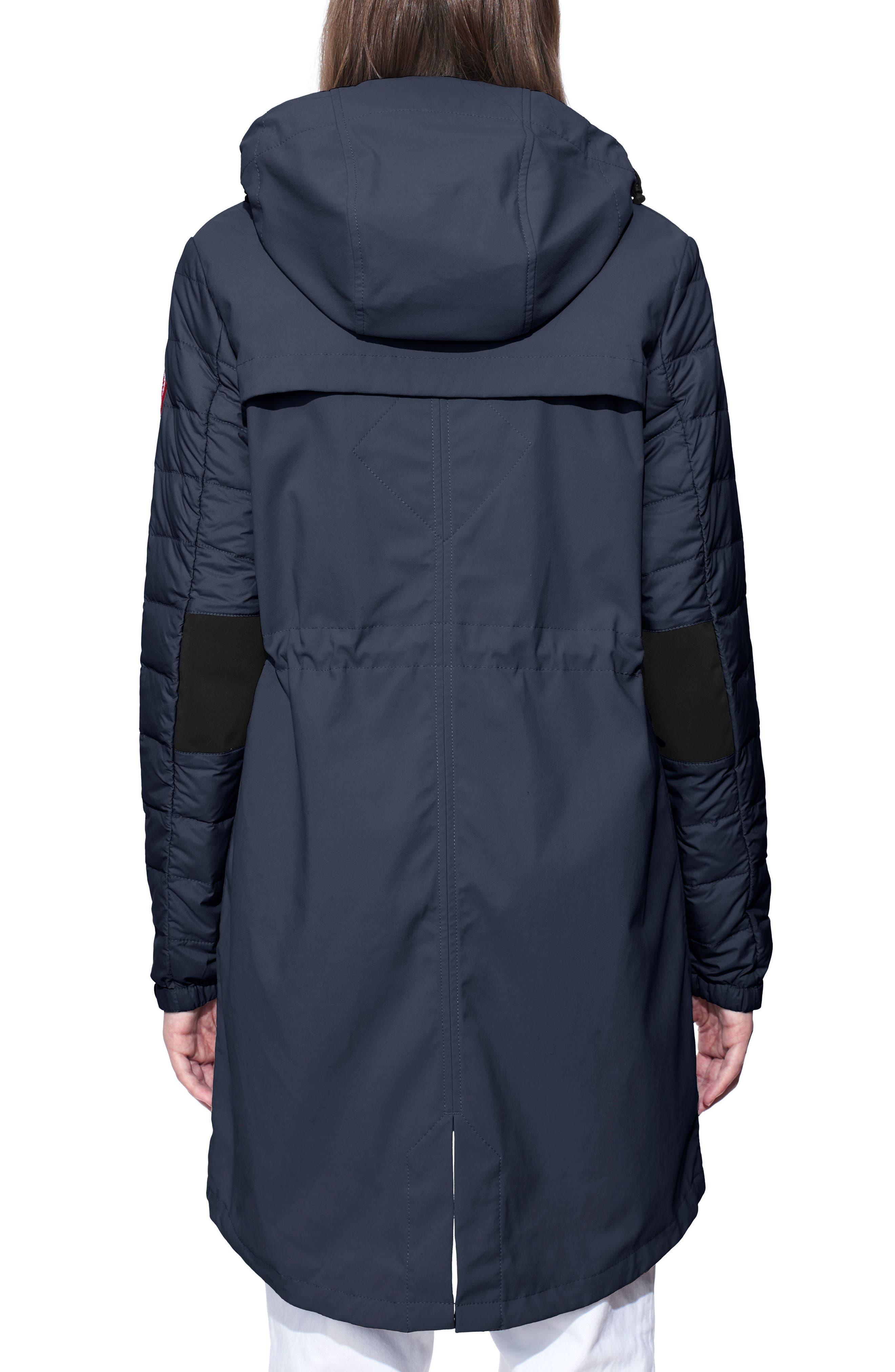 Sabine Coat,                             Alternate thumbnail 2, color,                             Polar Sea/ Black