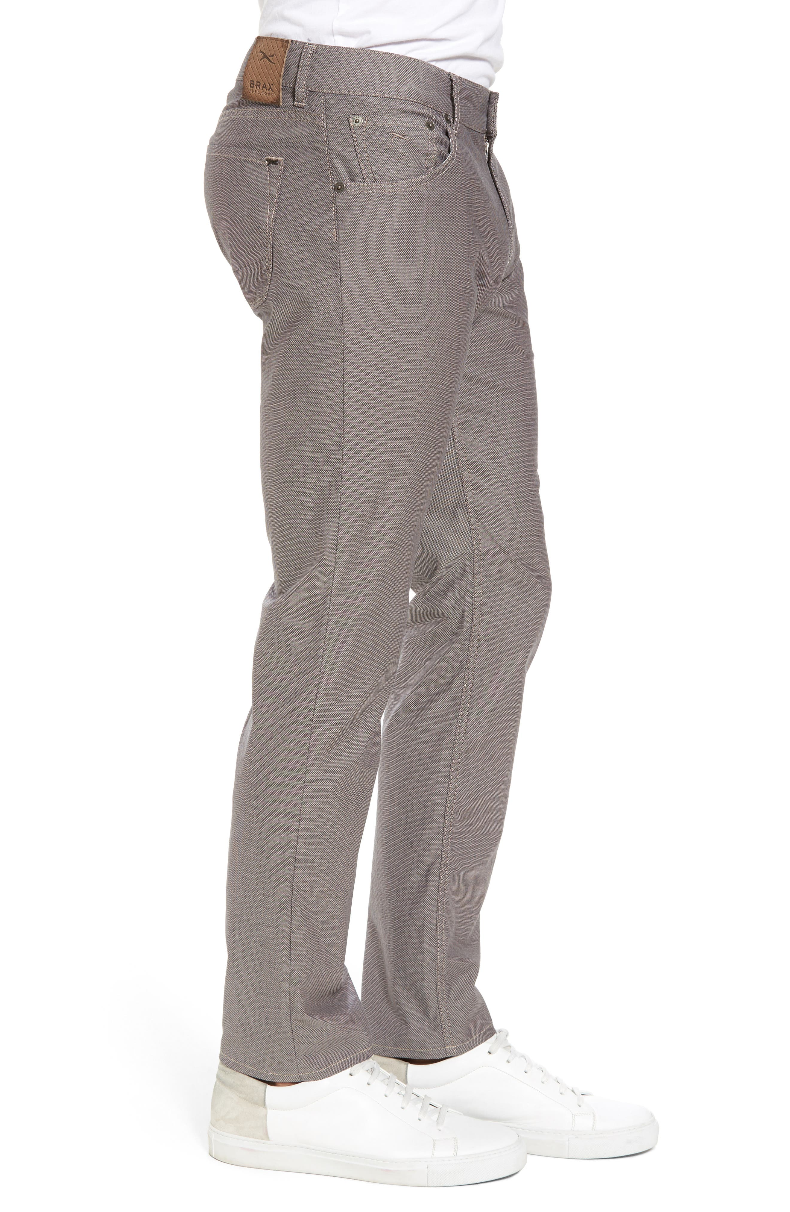 Chuck Stretch Cotton Pants,                             Alternate thumbnail 3, color,                             Beige