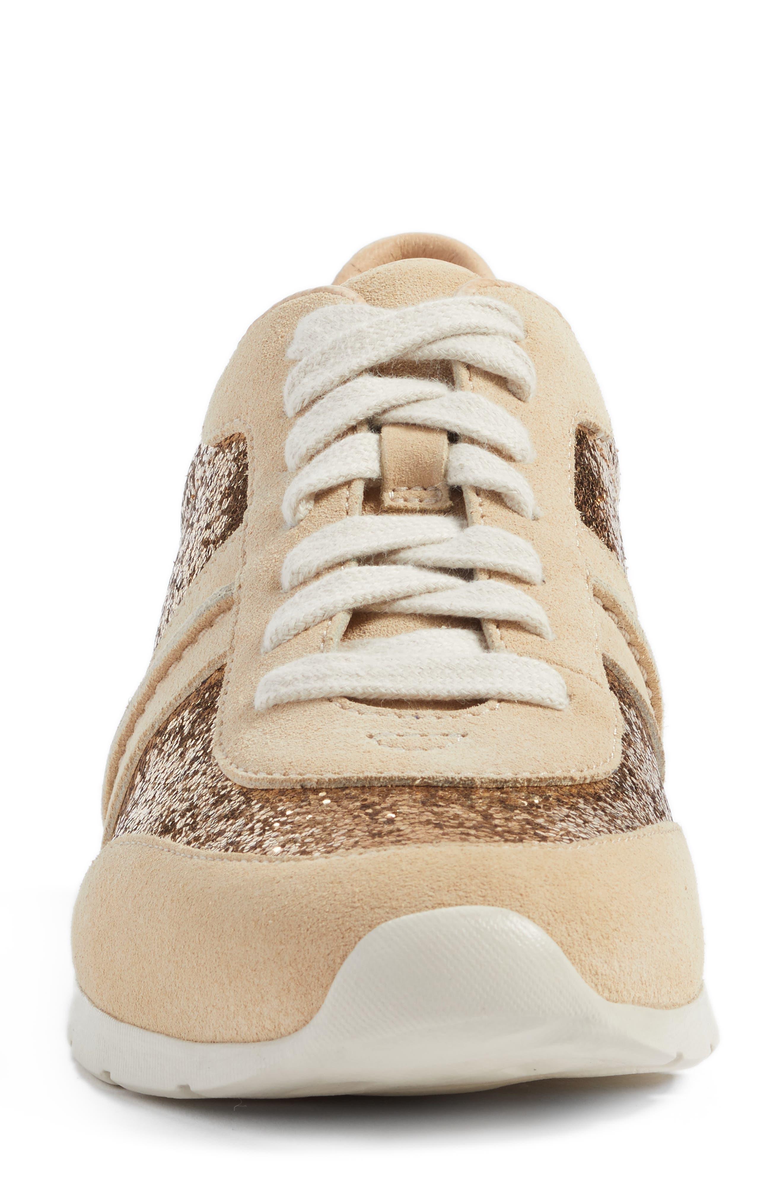 Alternate Image 4  - UGG® Jaida Glitter Sneaker (Women)