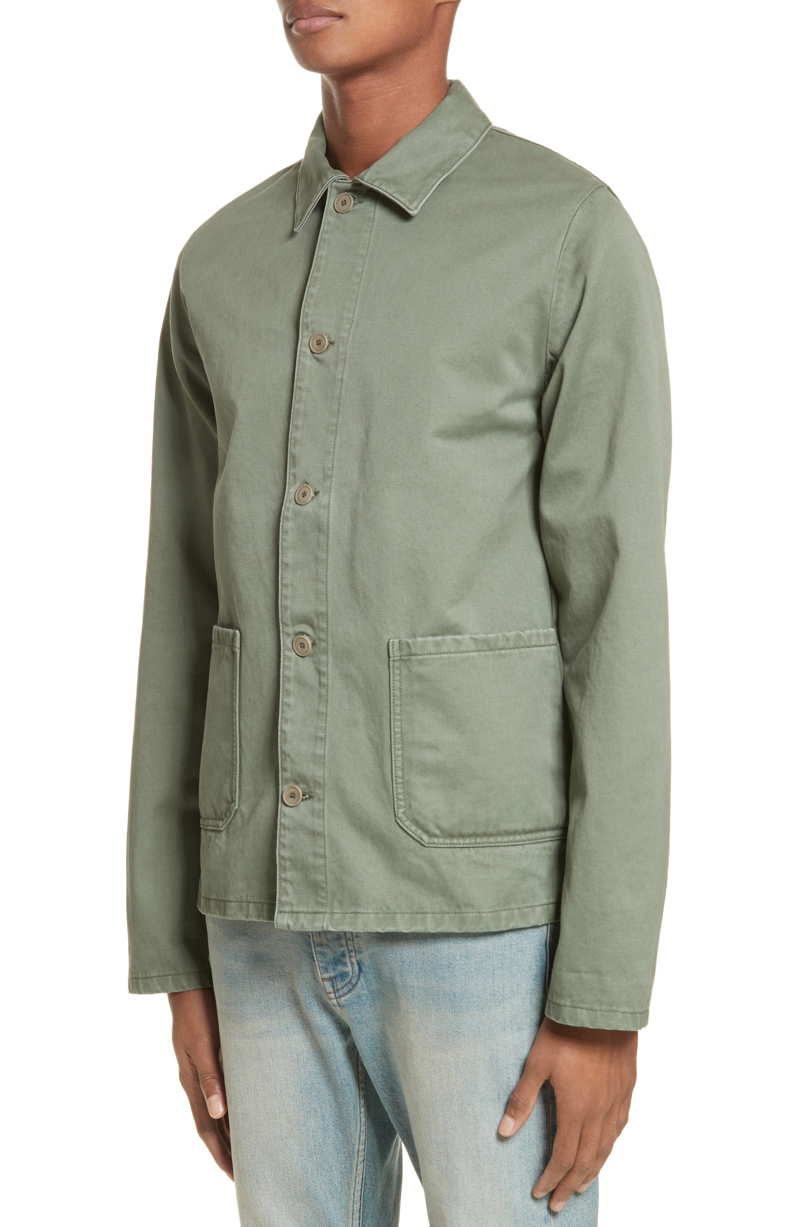 Alternate Image 4  - A.P.C. Kerlouan Shirt Jacket