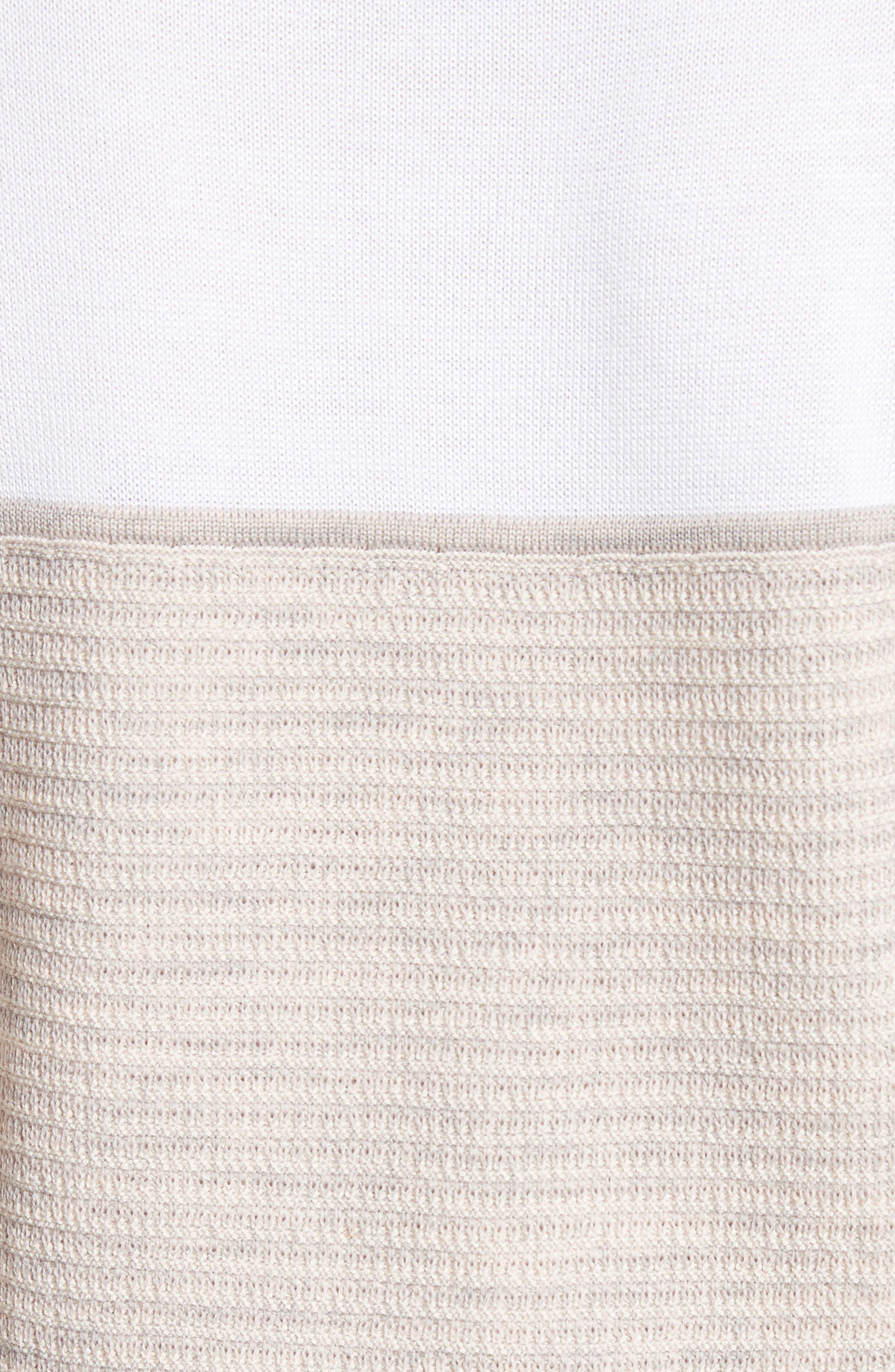 Alternate Image 5  - St. John Collection Tech Rib Knit Sweater