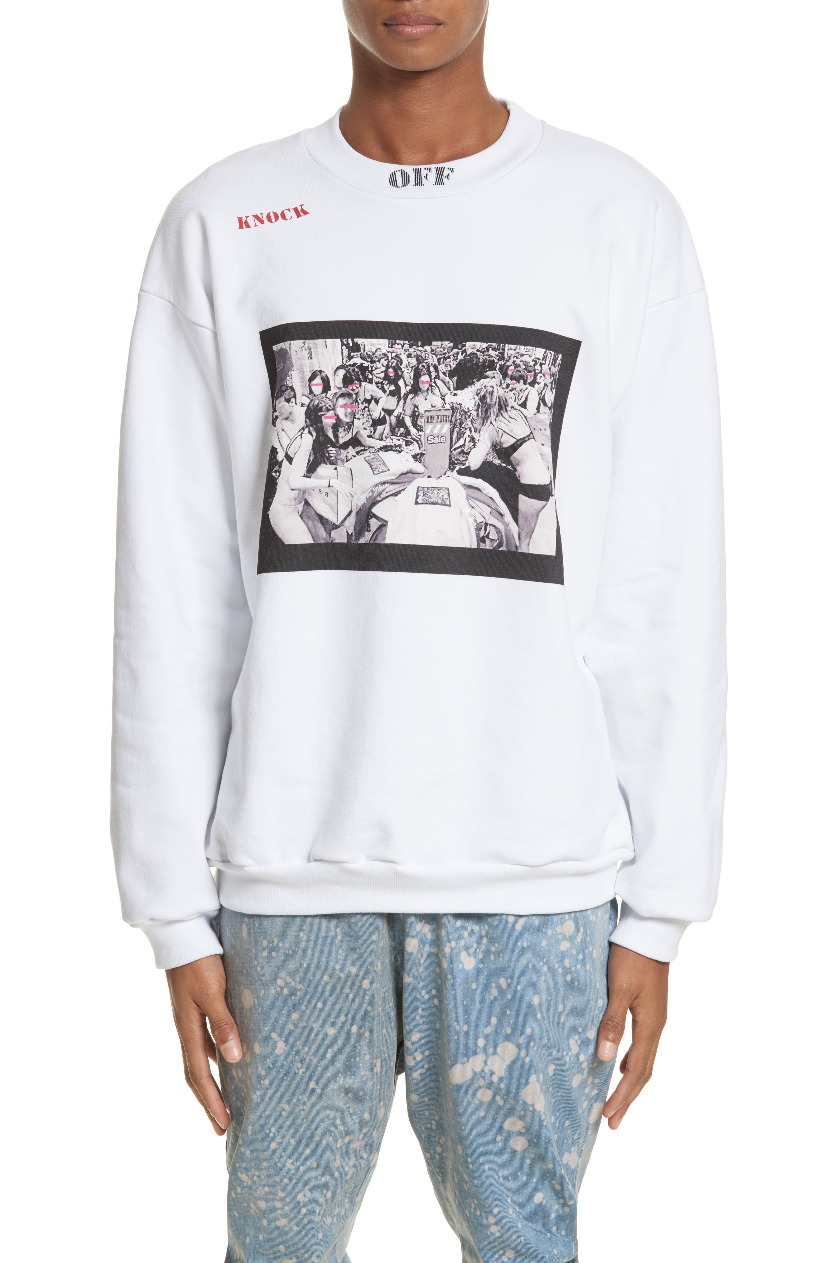 Alternate Image 1 Selected - Drifter Toad Graphic Sweatshirt