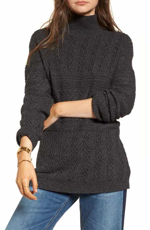 Treasure & Bond Funnel Neck Sweater