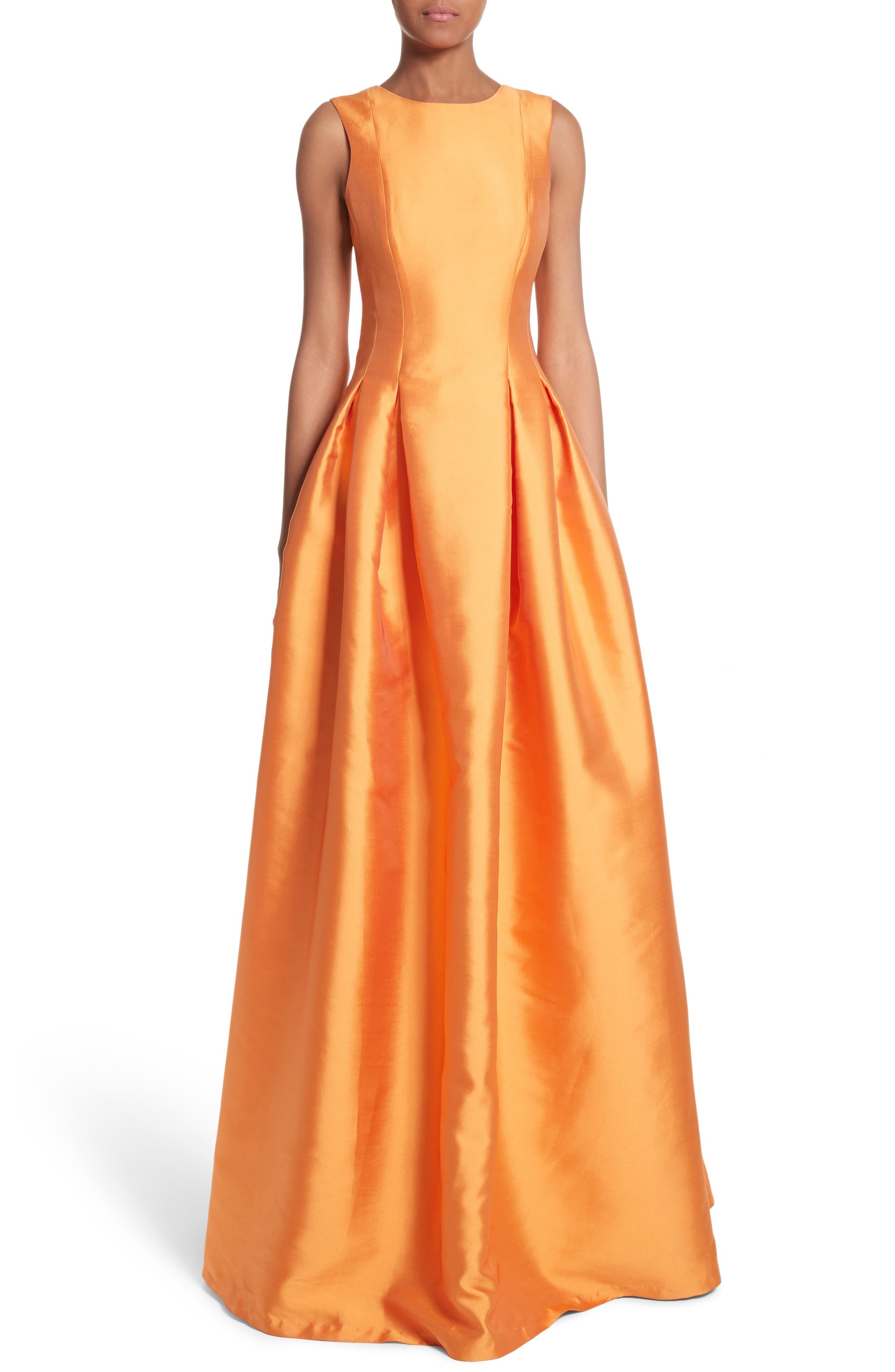 Women\'s Orange Designer Dresses   Nordstrom
