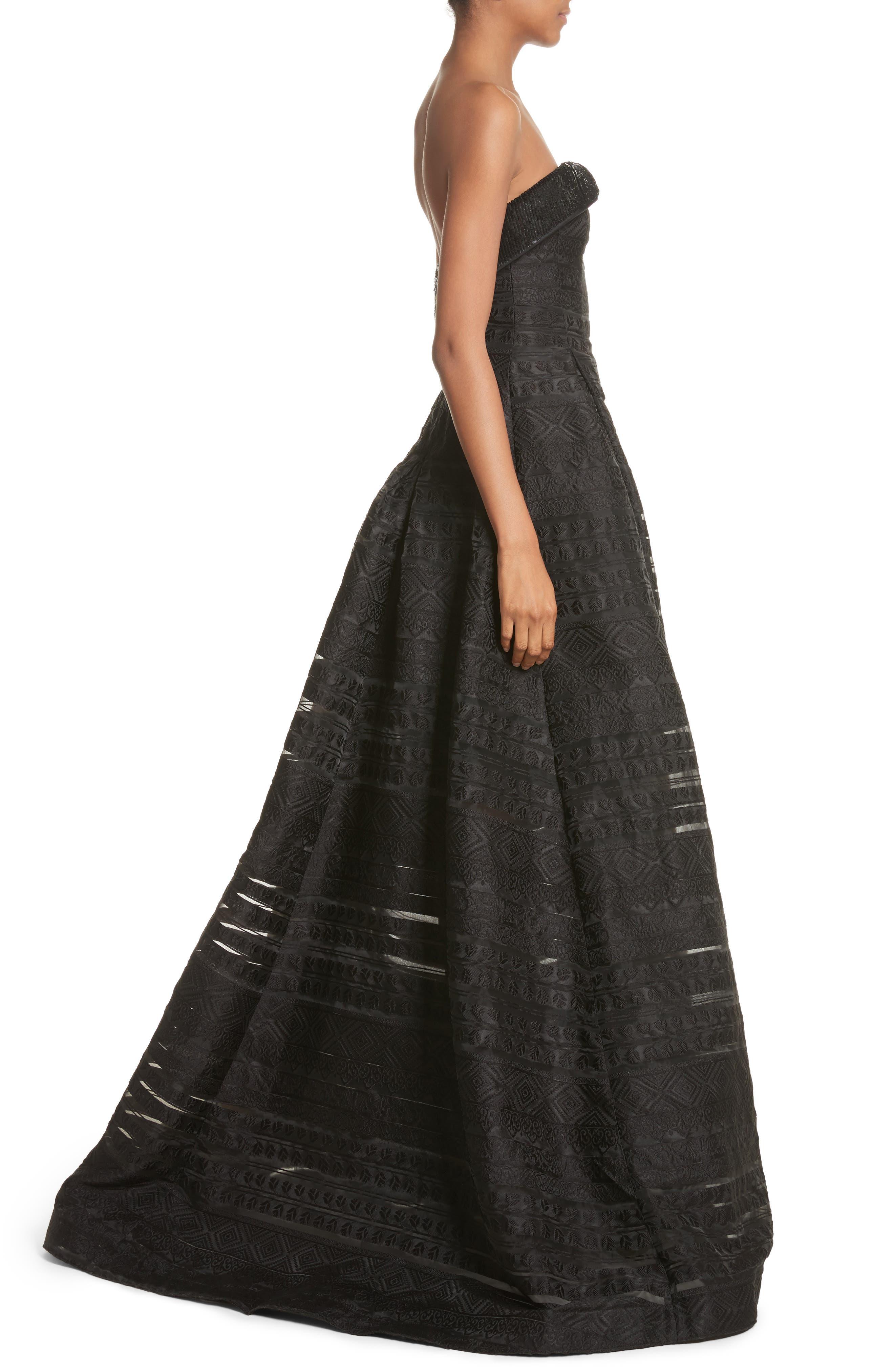 Alternate Image 3  - Sachin & Babi Noir Istiklal Embellished Strapless Ballgown